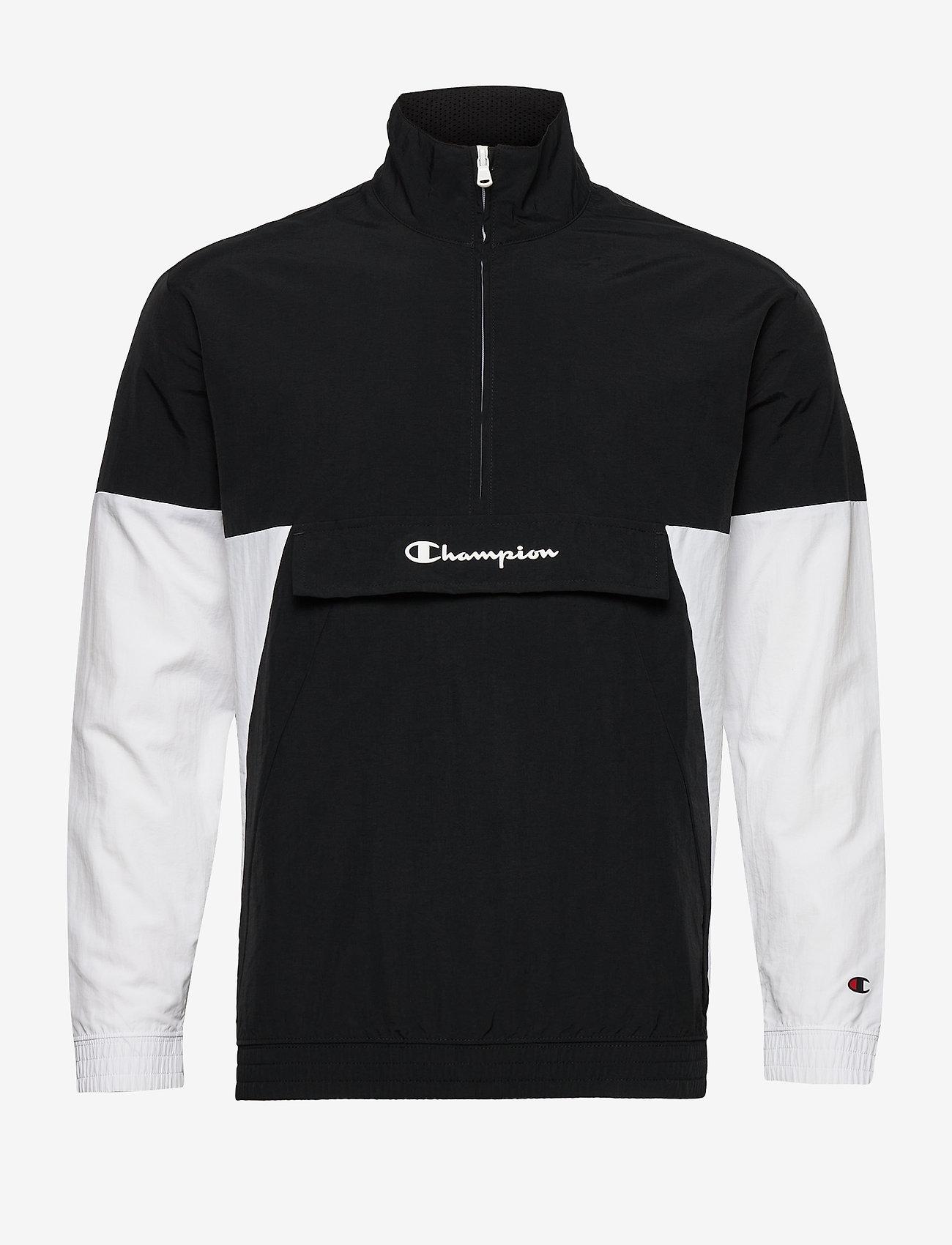 Champion - Half Zip Sweatshirt - anoraki - black beauty - 0