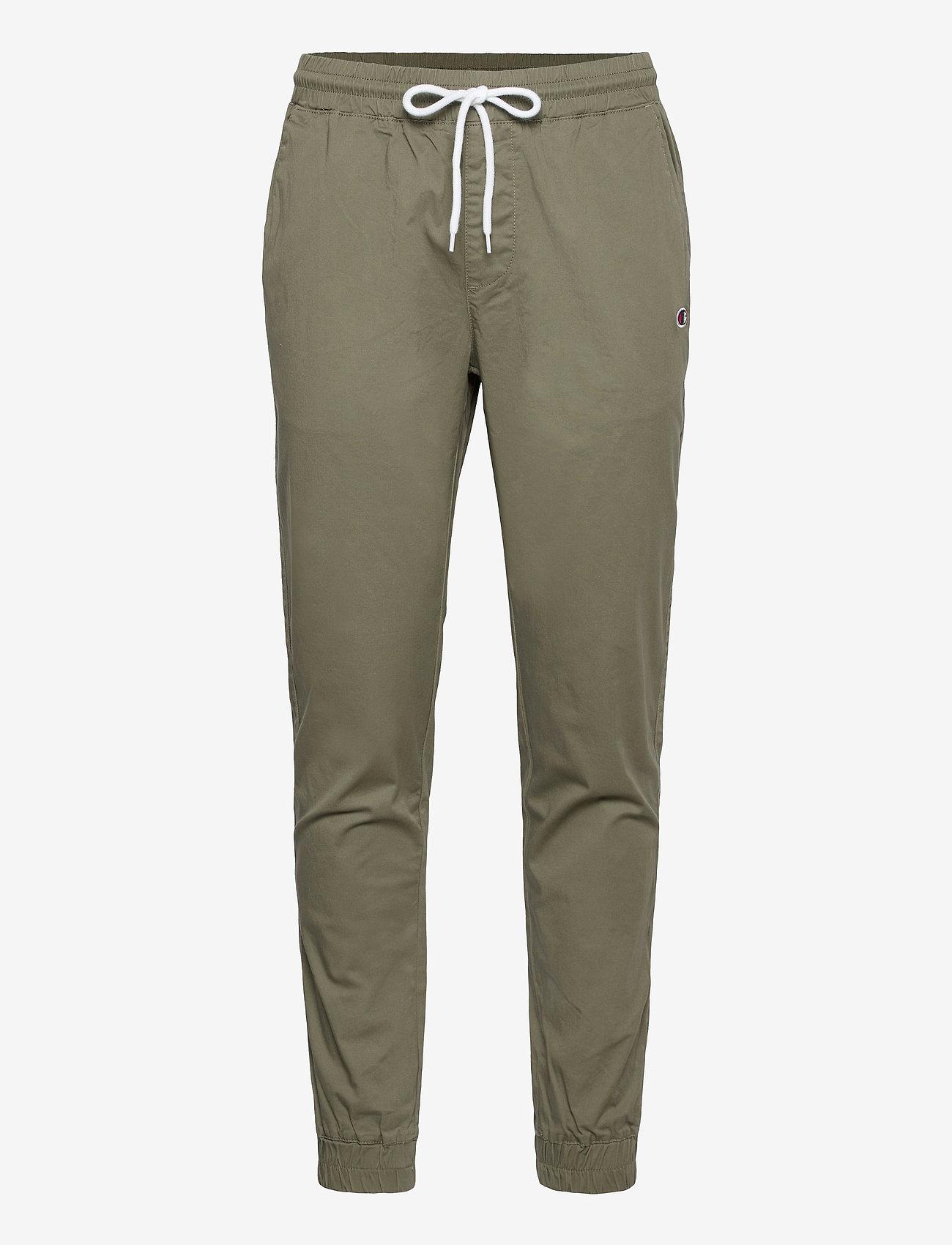 Champion - Elastic Cuff Pants - treenihousut - deep lichen - 0