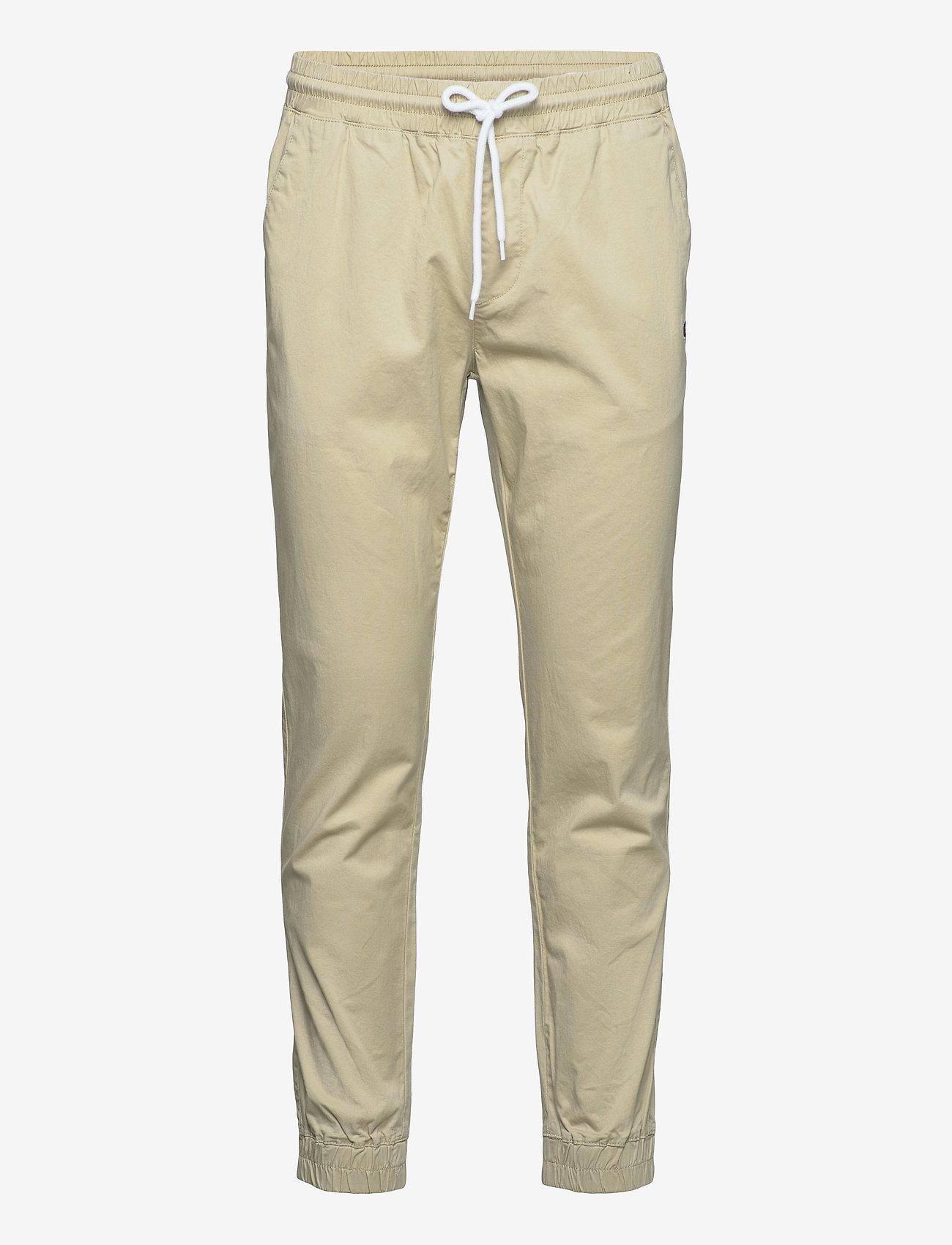Champion - Elastic Cuff Pants - treenihousut - white pepper - 0
