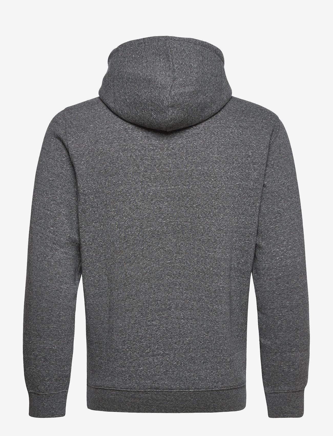 Champion Hooded Sweatshirt - Sweatshirts GRAY MELANGE DARK - Menn Klær