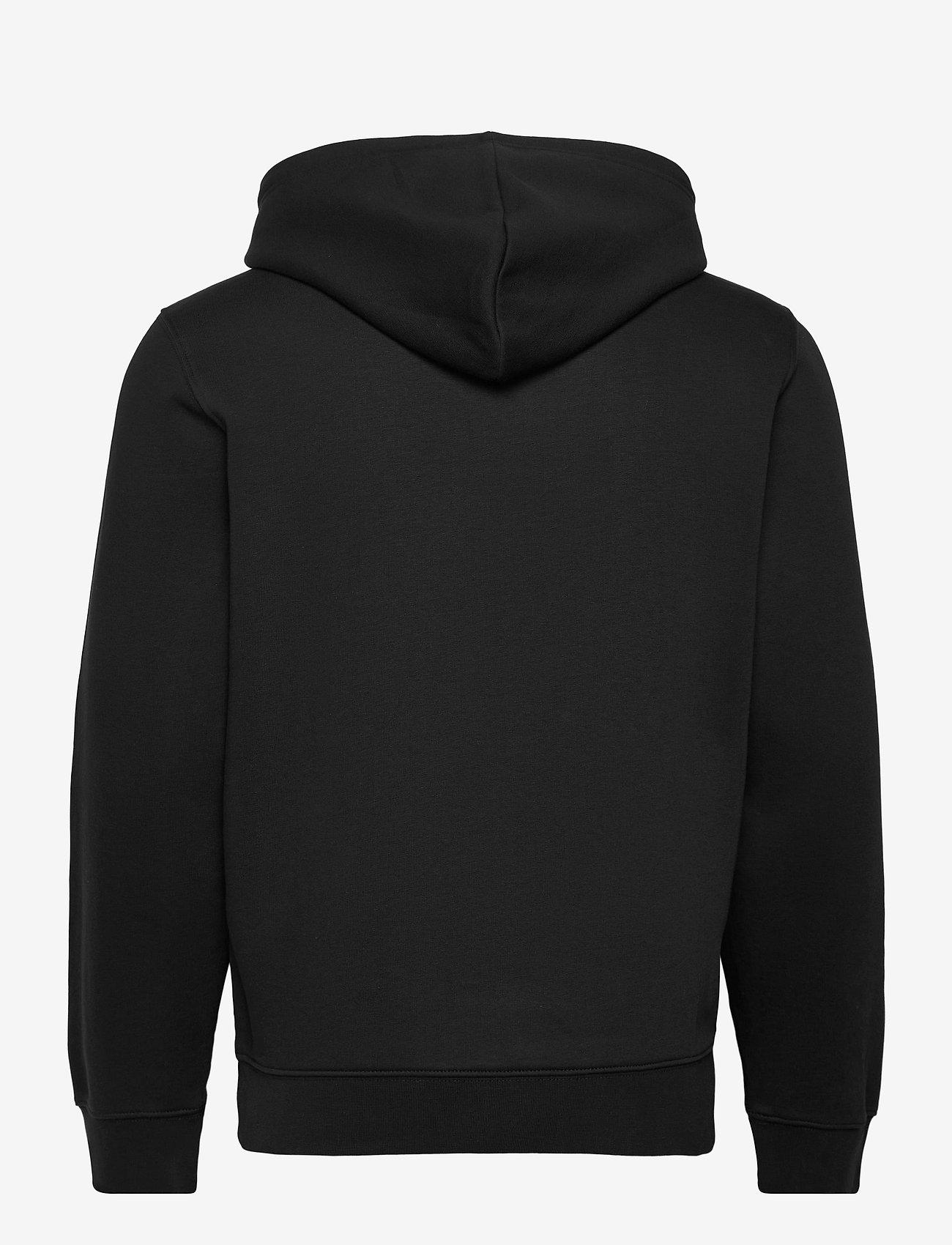 Champion - Hooded Full Zip Sweatshirt - basic sweatshirts - black beauty - 1