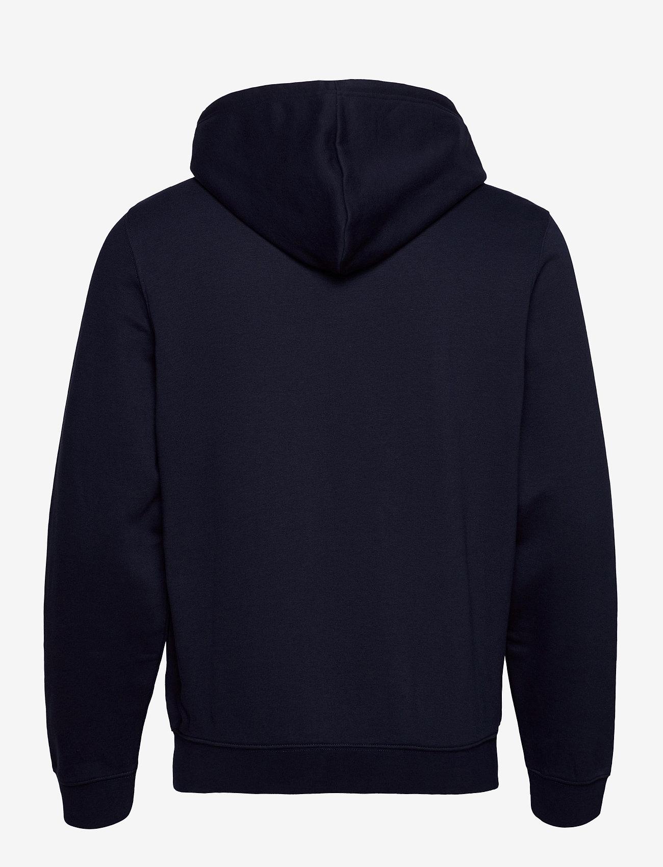 Champion - Hooded Full Zip Sweatshirt - basic sweatshirts - sky captain - 1