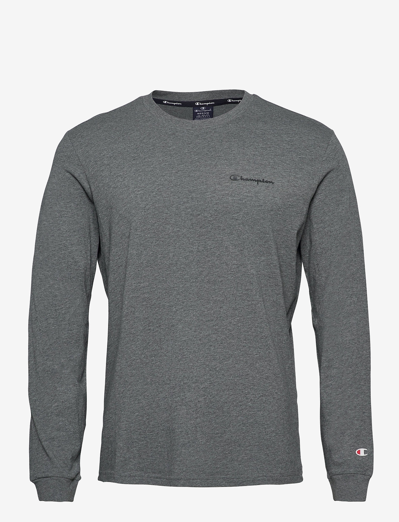 Champion - Long Sleeve Crewneck T-Shirt - langarmshirts - new dark graphite - 0