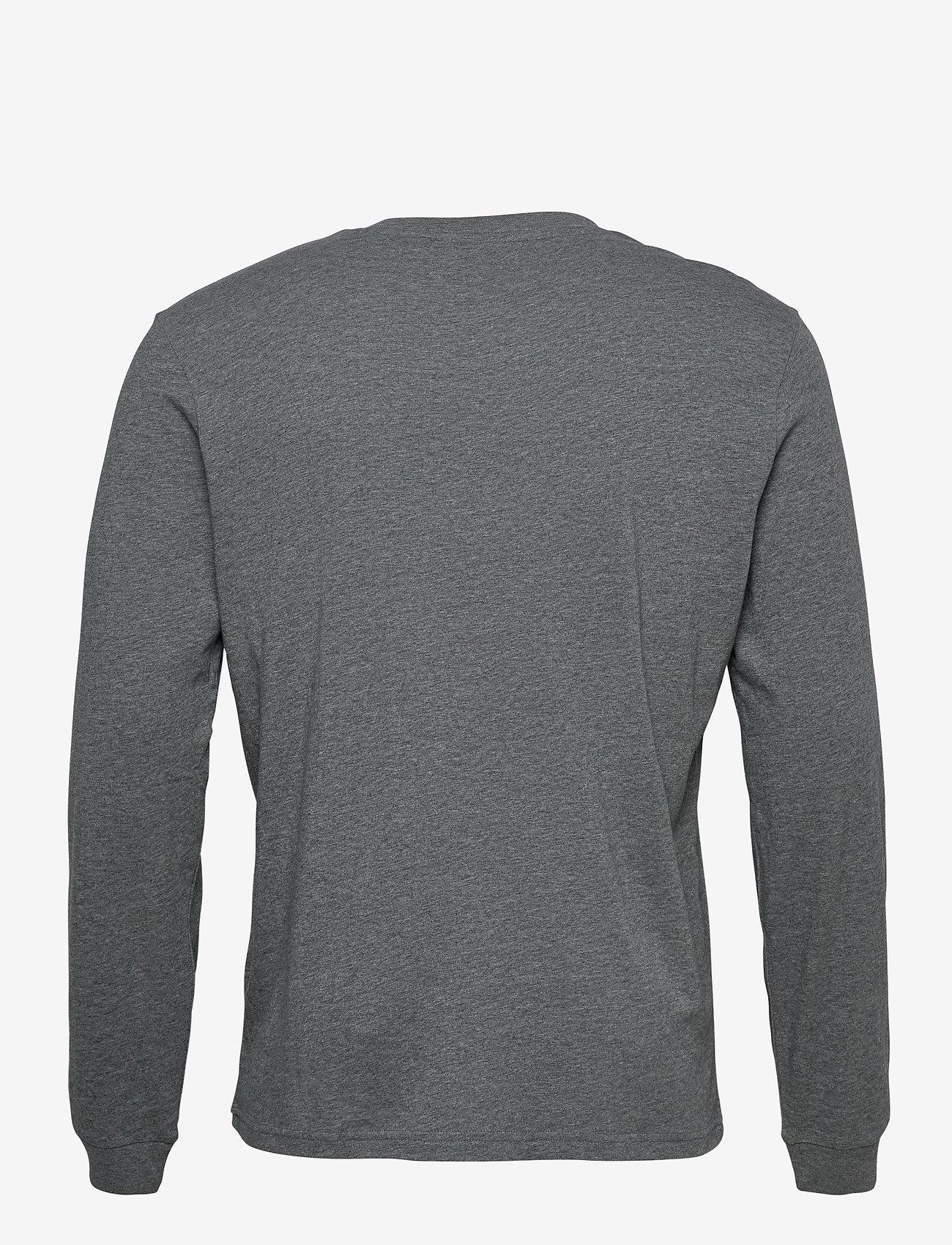 Champion - Long Sleeve Crewneck T-Shirt - langarmshirts - new dark graphite - 1