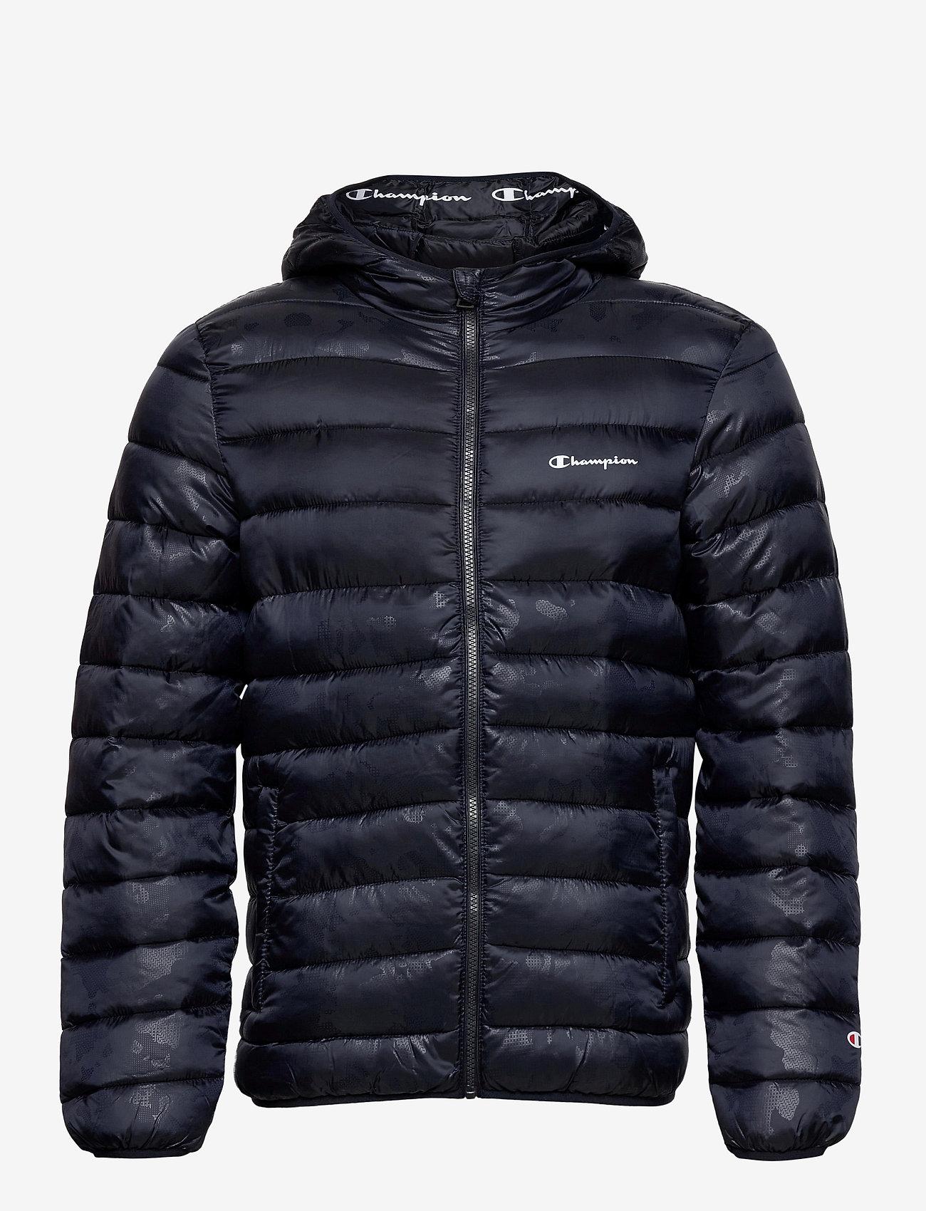 Champion - Hooded Jacket - athleisure-takit - sky captain al (nny) - 1