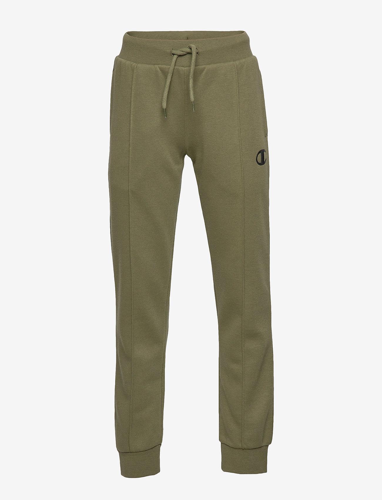 Champion - Rib Cuff Pants - verryttelyhousut - winter moss