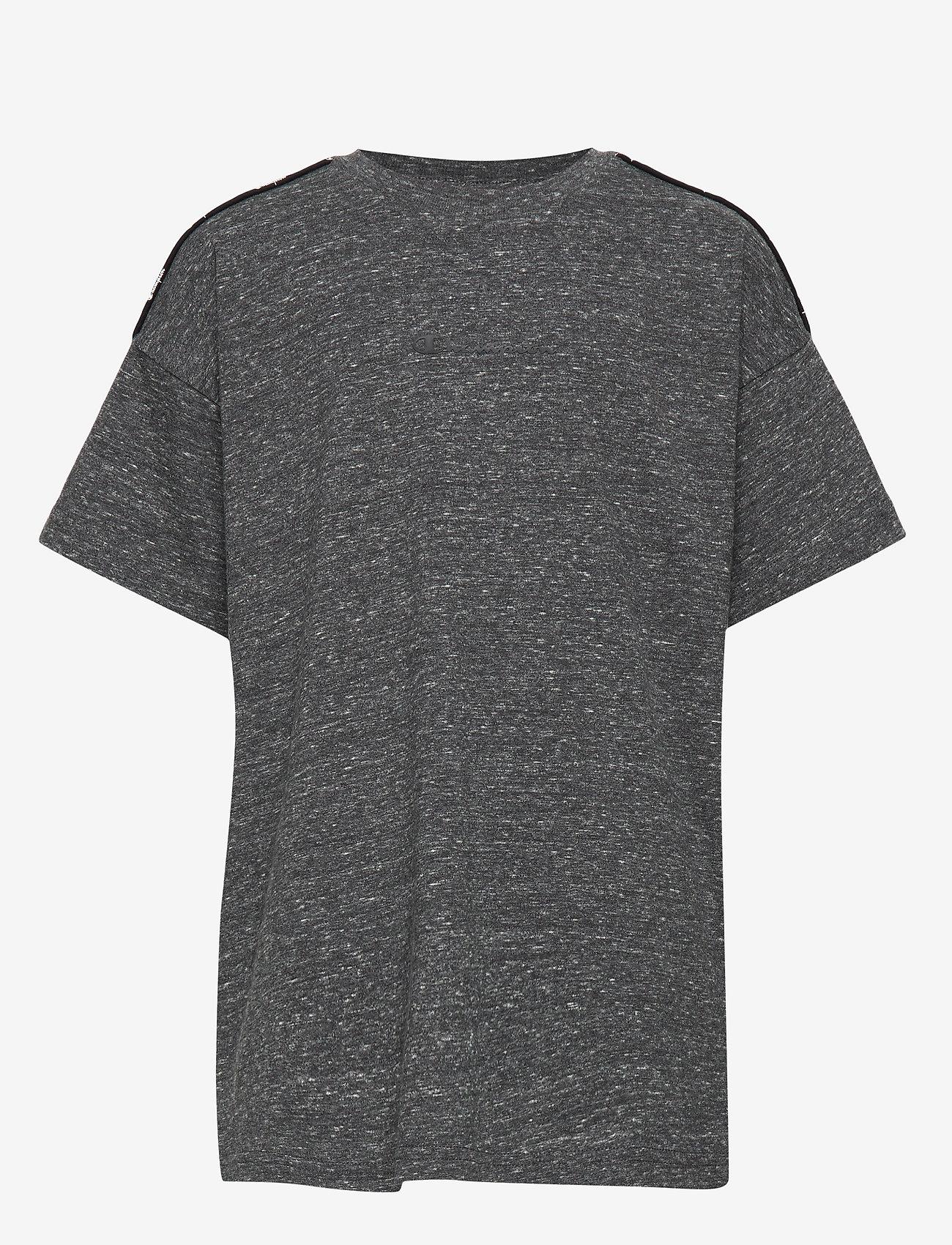 Champion - Crewneck T-Shirt - À manches courtes - new charcoal grey melange dark - 0