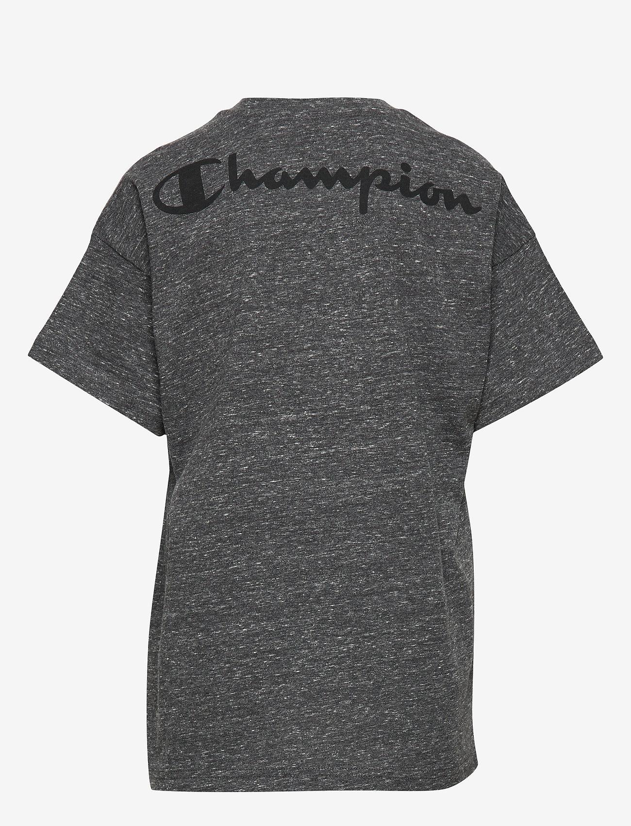 Champion - Crewneck T-Shirt - À manches courtes - new charcoal grey melange dark - 1