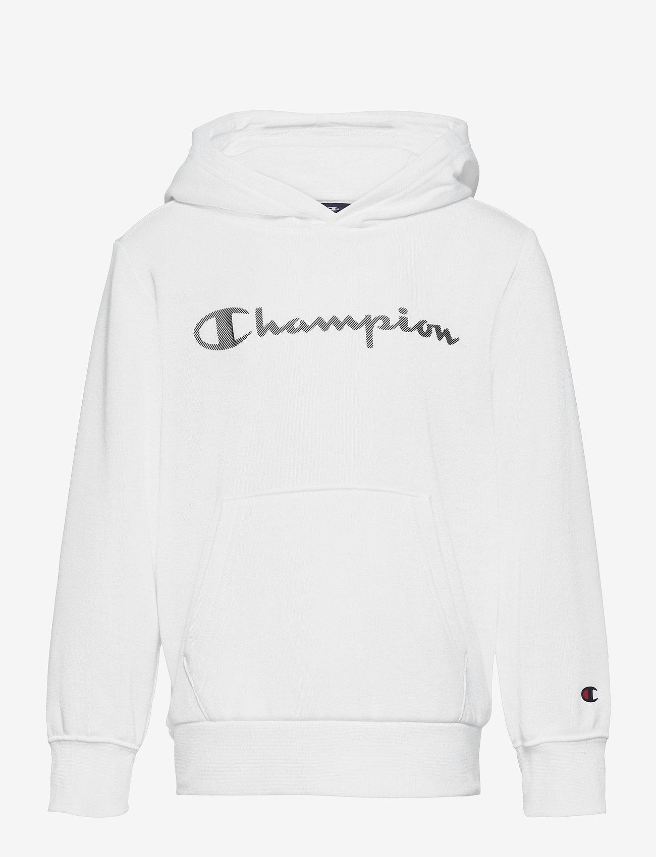 Champion - Hooded Sweatshirt - hoodies - white - 0