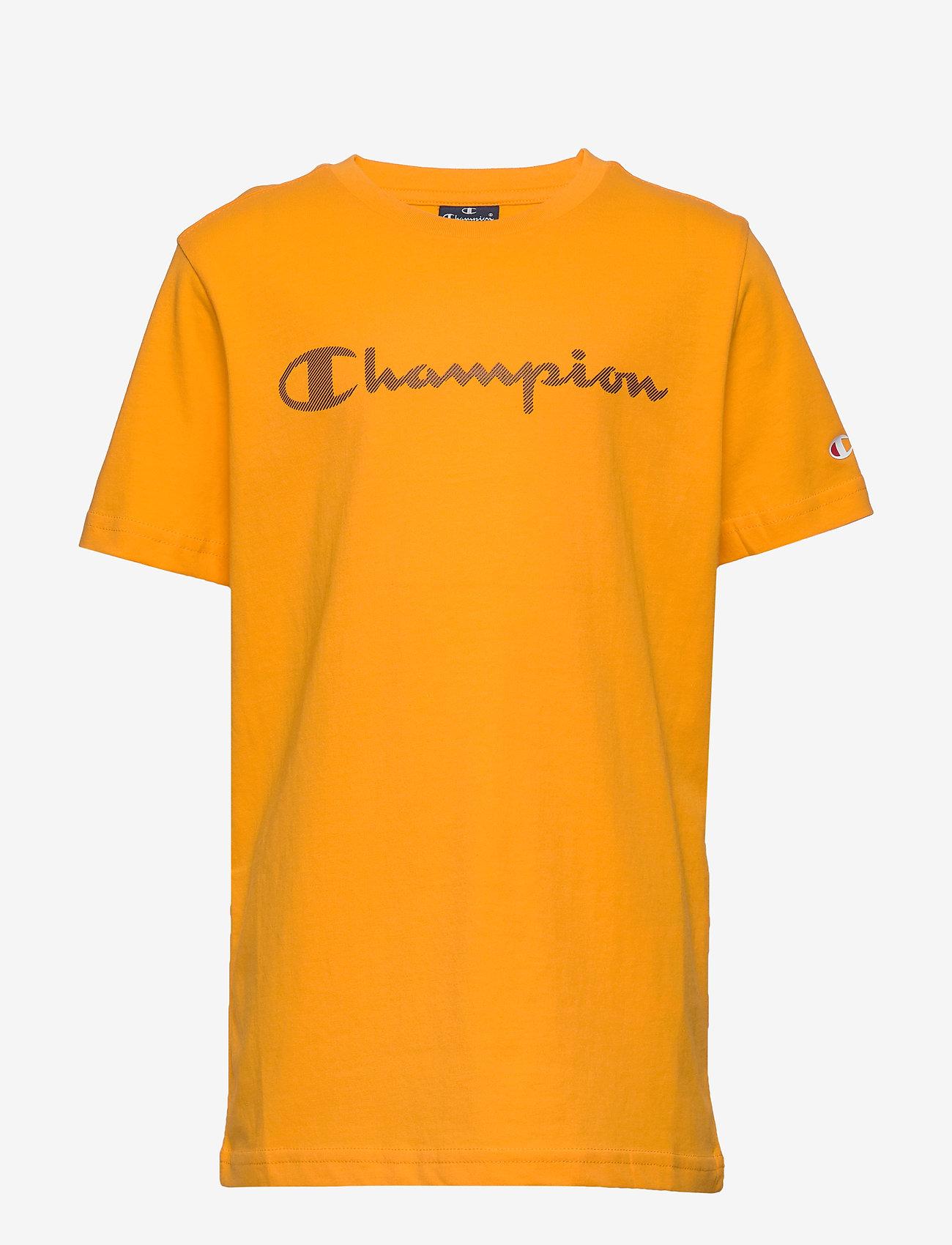 Champion - Crewneck T-Shirt - short-sleeved t-shirts - zinnia - 0