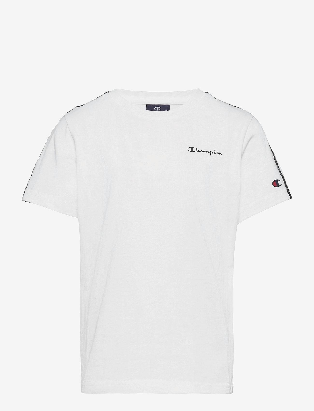 Champion - Crewneck T-Shirt - short-sleeved - white - 0
