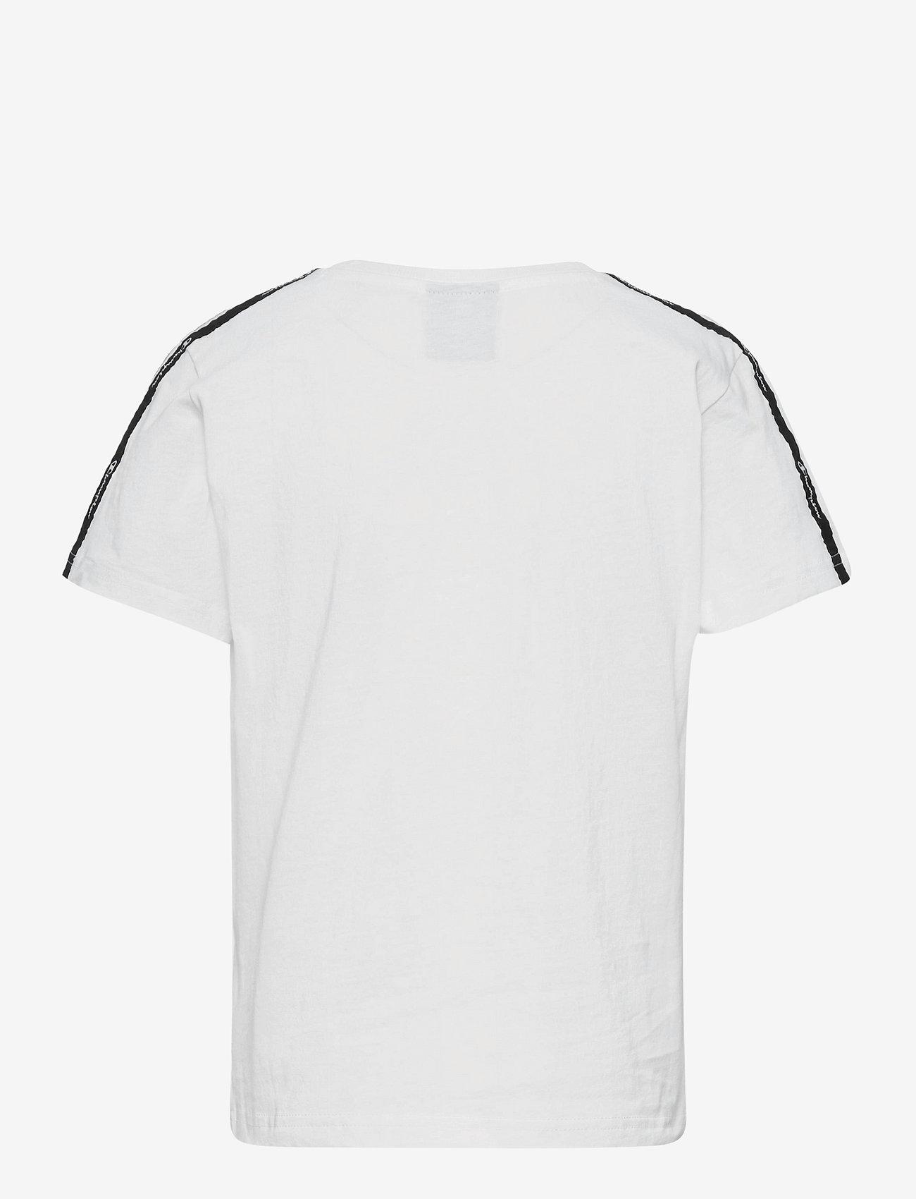 Champion - Crewneck T-Shirt - short-sleeved - white - 1