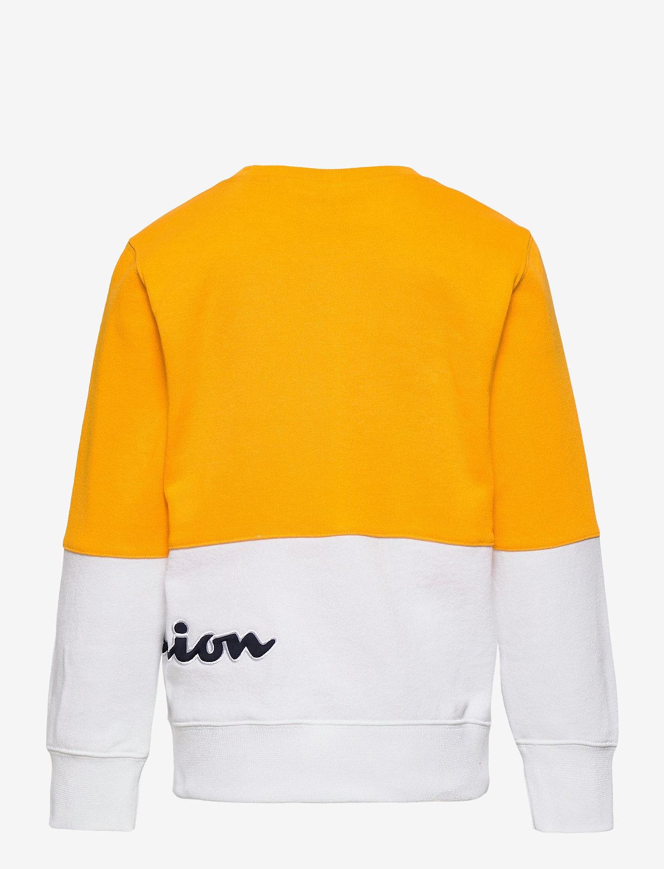 Champion - Crewneck Sweatshirt - sweatshirts - spectra yellow - 1