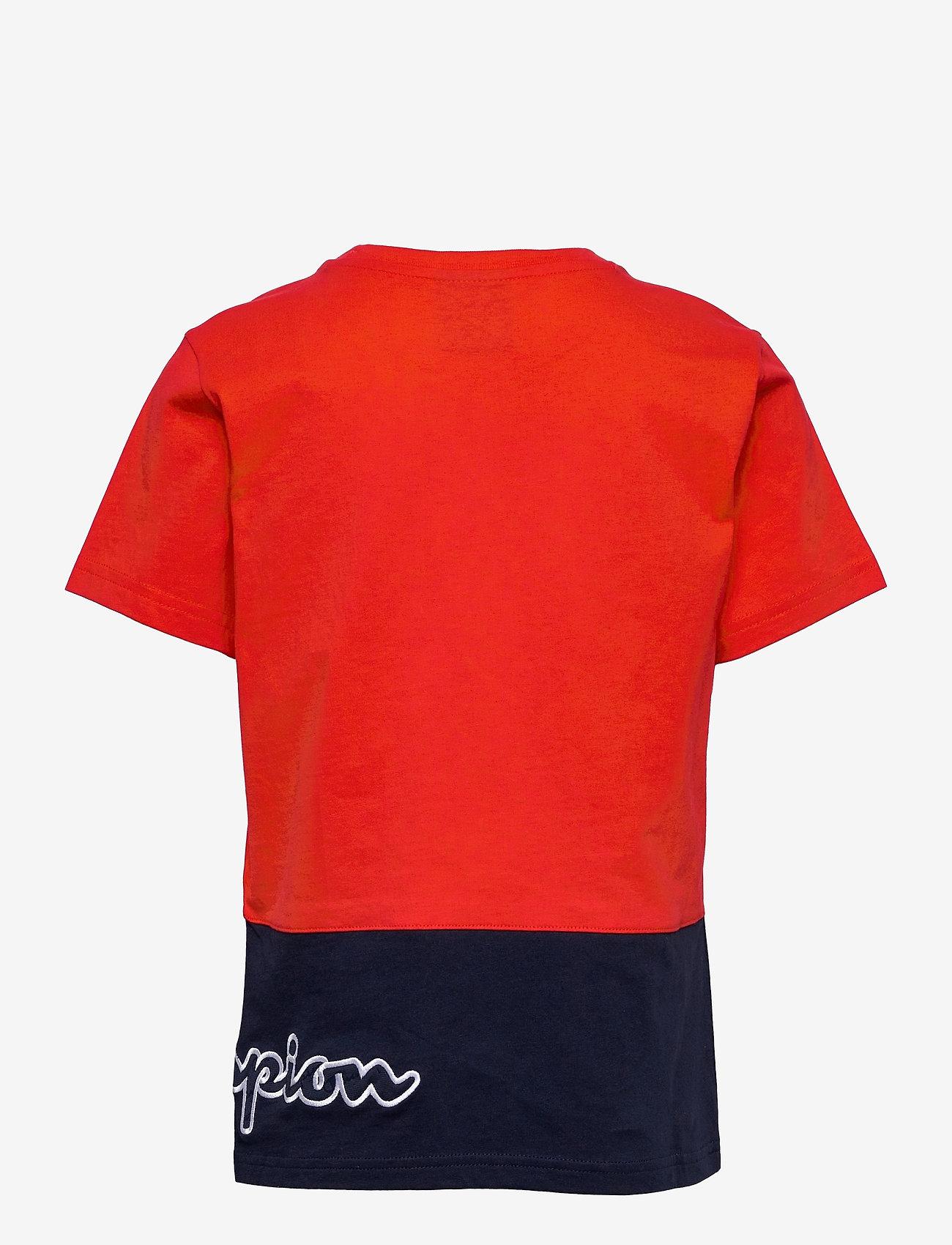 Champion - Crewneck T-Shirt - short-sleeved - flame scarlet - 1