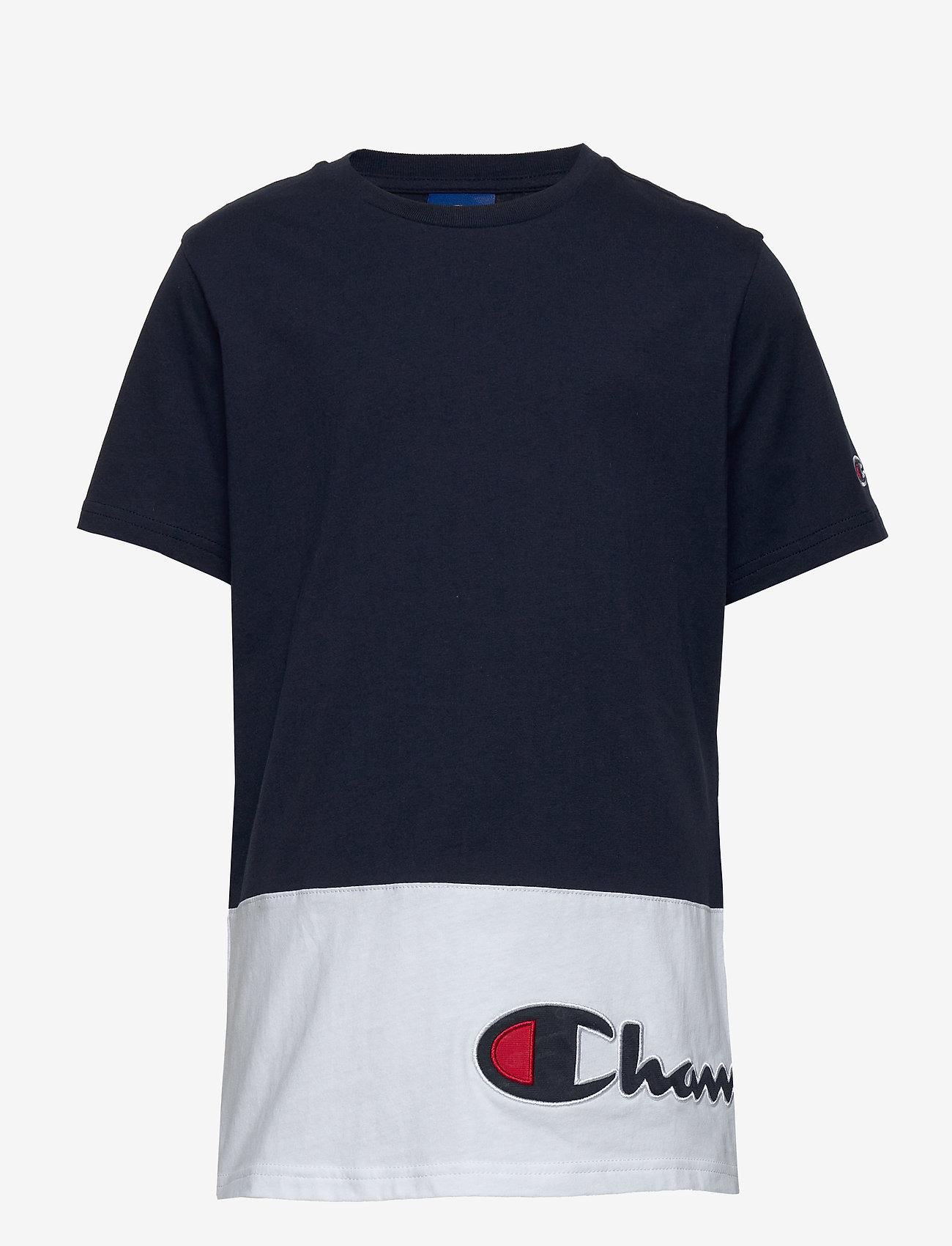 Champion - Crewneck T-Shirt - short-sleeved - navy blazer - 0