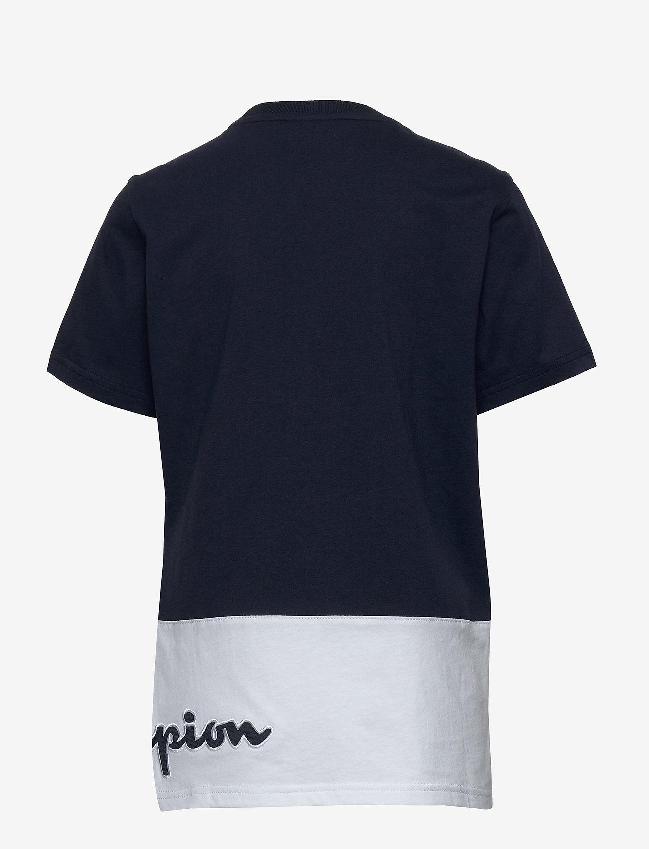 Champion - Crewneck T-Shirt - short-sleeved - navy blazer - 1
