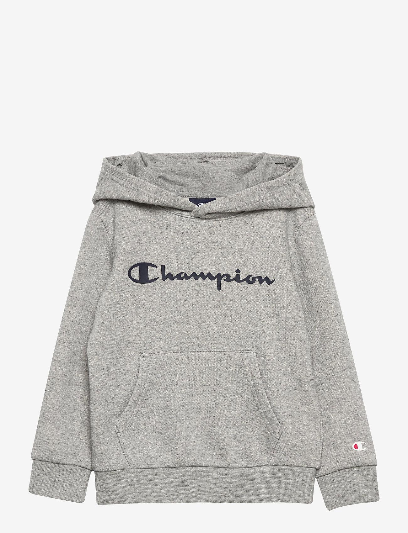 Champion - Hooded Sweatshirt - kapuzenpullover - gray melange light - 0