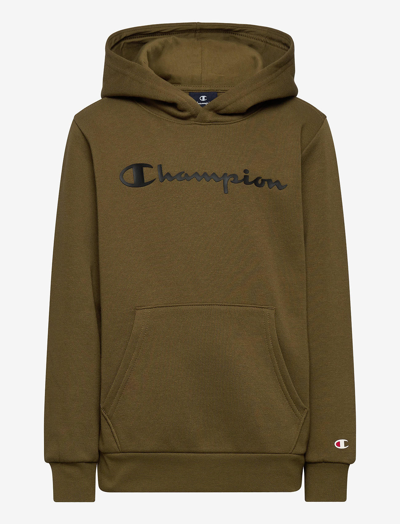 Champion - Hooded Sweatshirt - kapuzenpullover - military olive - 0