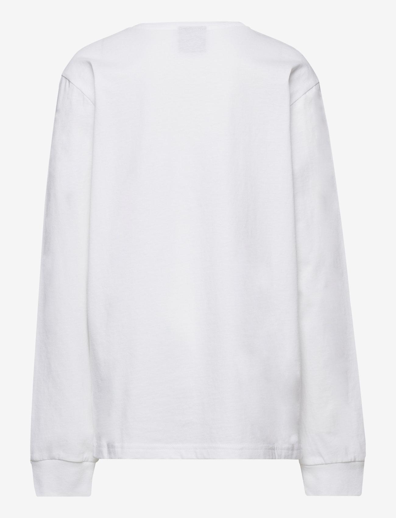 Champion - Long Sleeve T-Shirt - sweatshirts - white - 1
