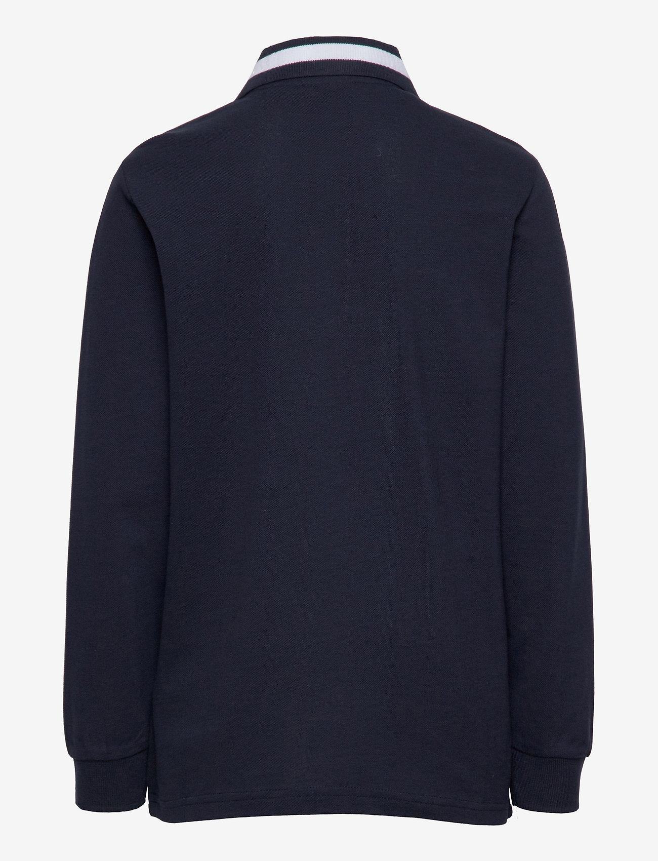 Champion - Long Sleeve Polo T-Shirt - poloshirts - sky captain - 1