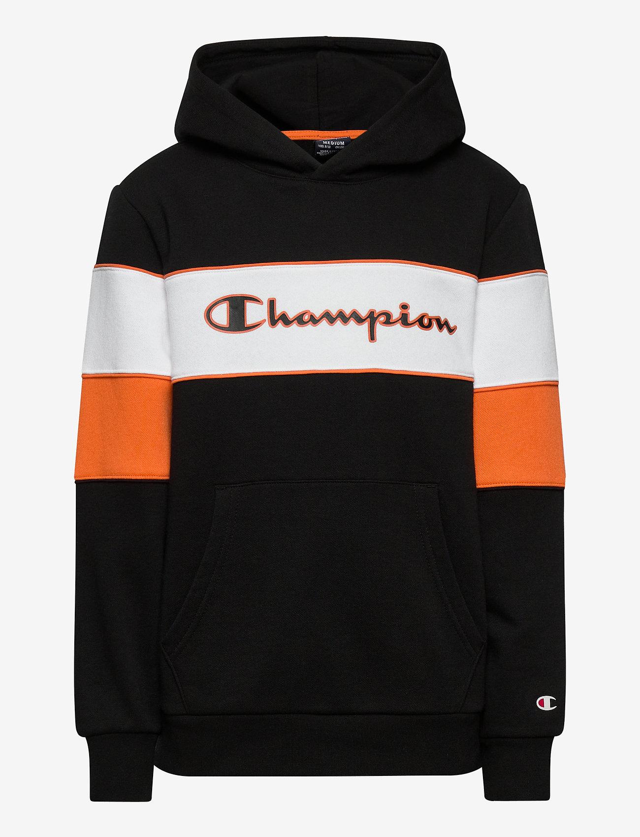 Champion - Hooded Sweatshirt - kapuzenpullover - black beauty - 0