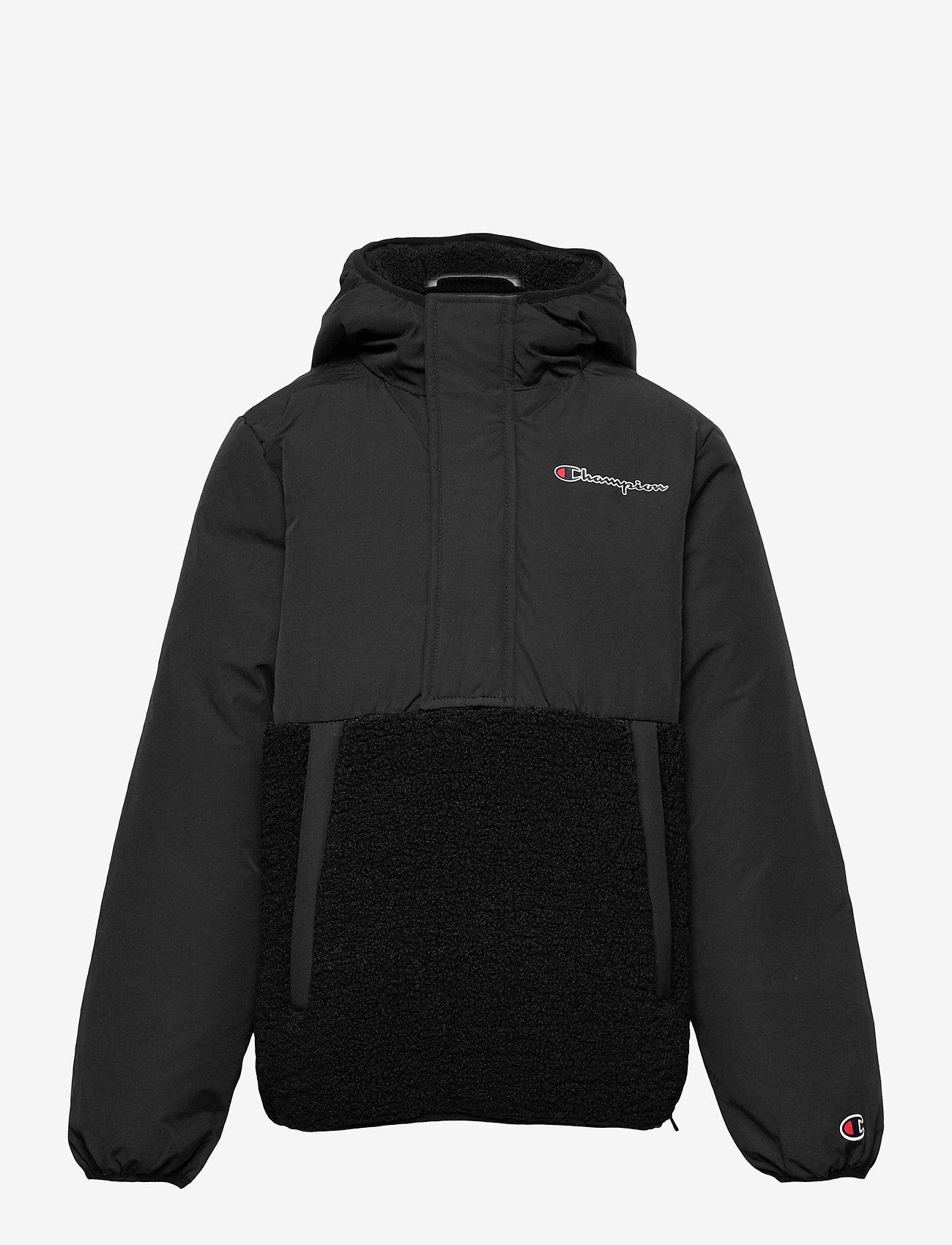 Champion - Hooded Jacket - isolerede jakker - black beauty - 0