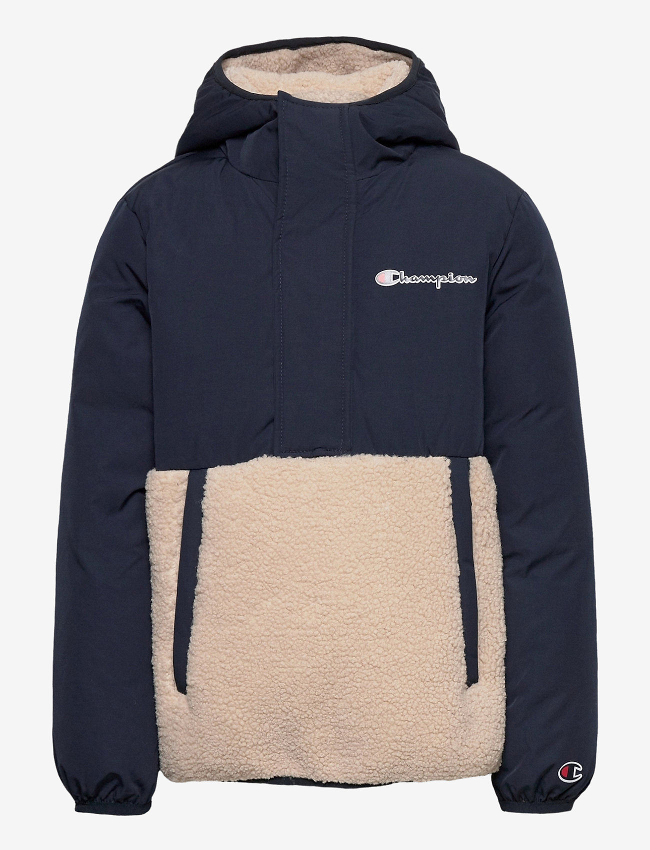 Champion - Hooded Jacket - fleecetøj - navy blazer - 0