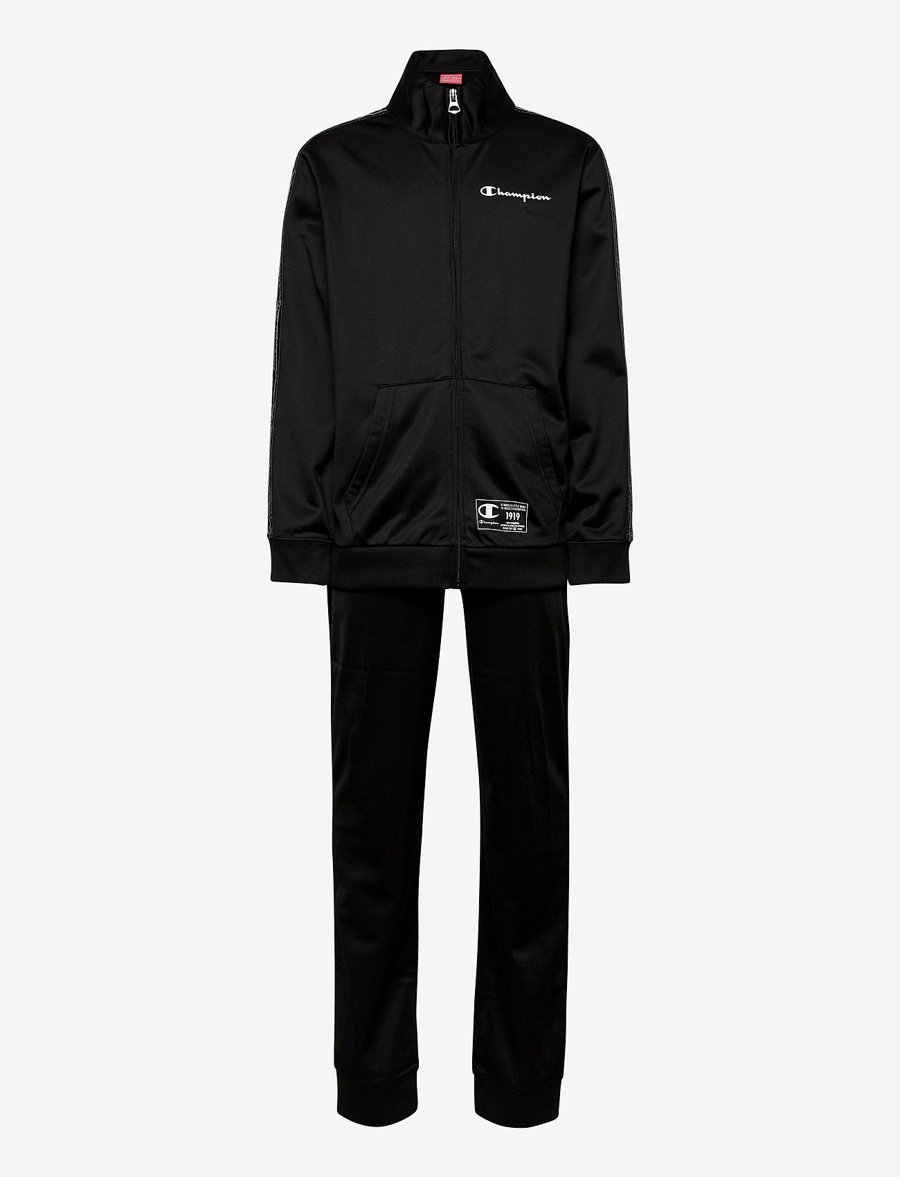 Champion - Full Zip Suit - trainingsanzug - black beauty - 0