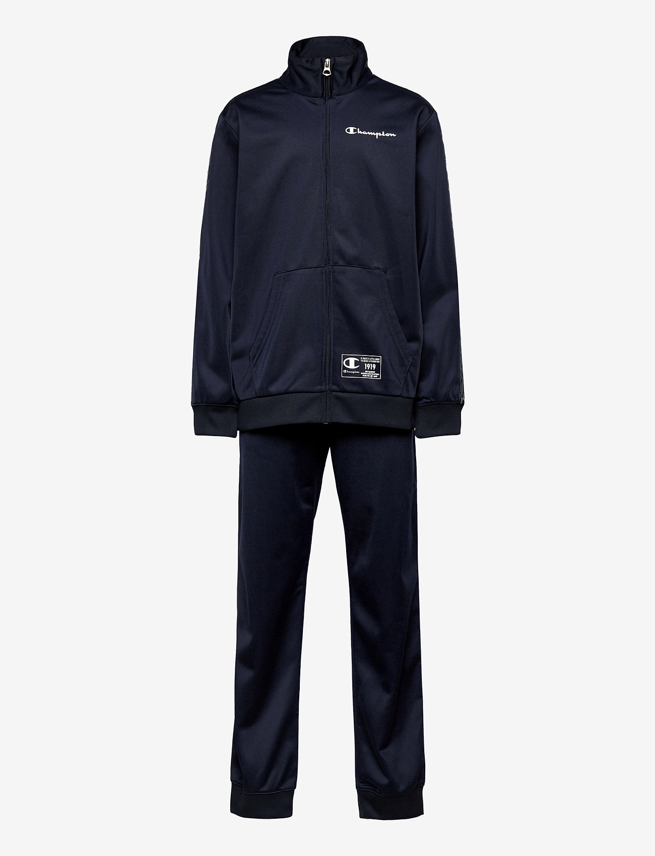 Champion - Full Zip Suit - trainingsanzug - sky captain - 0
