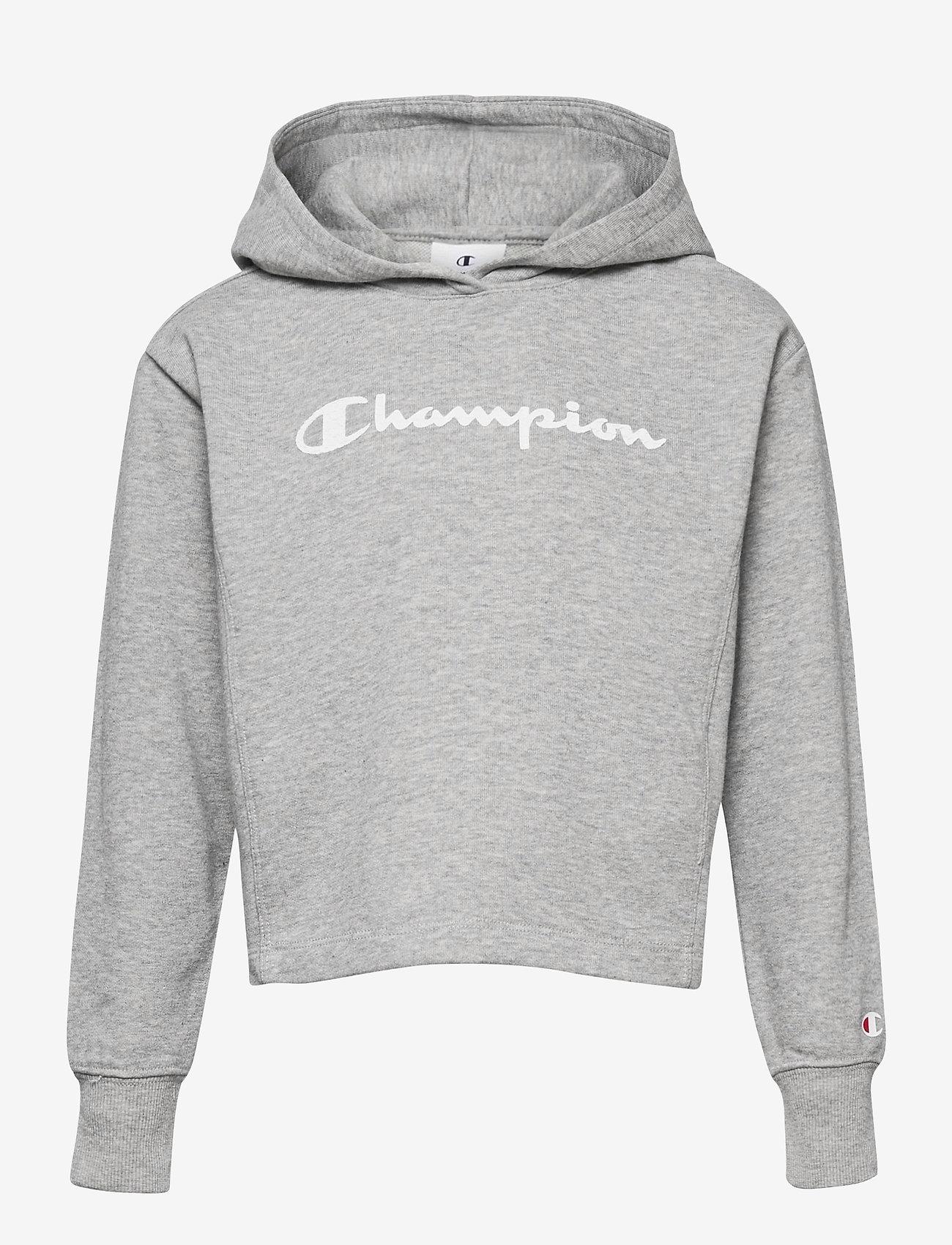 Champion - Hooded Sweatshirt - hoodies - gray melange light - 0