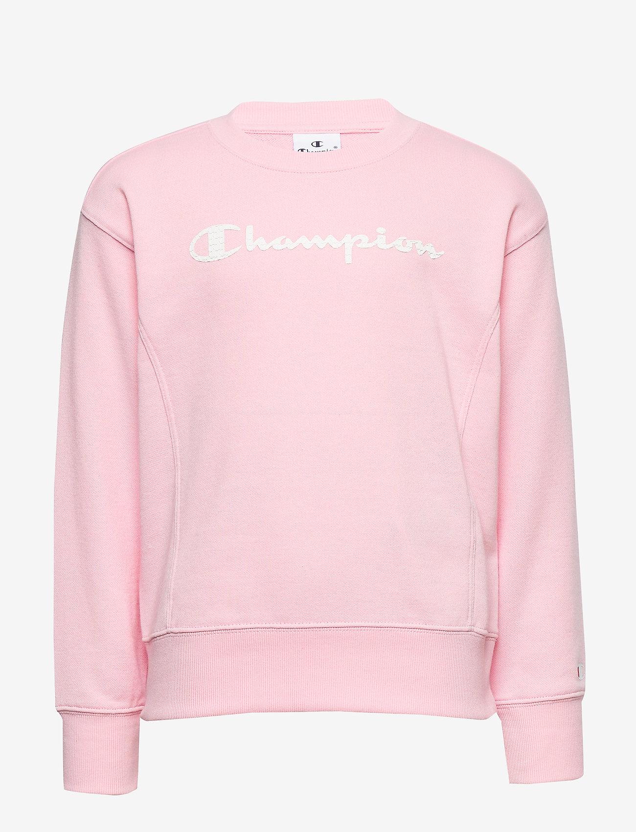 Champion - Crewneck Sweatshirt - sweatshirts - parfait pink - 0