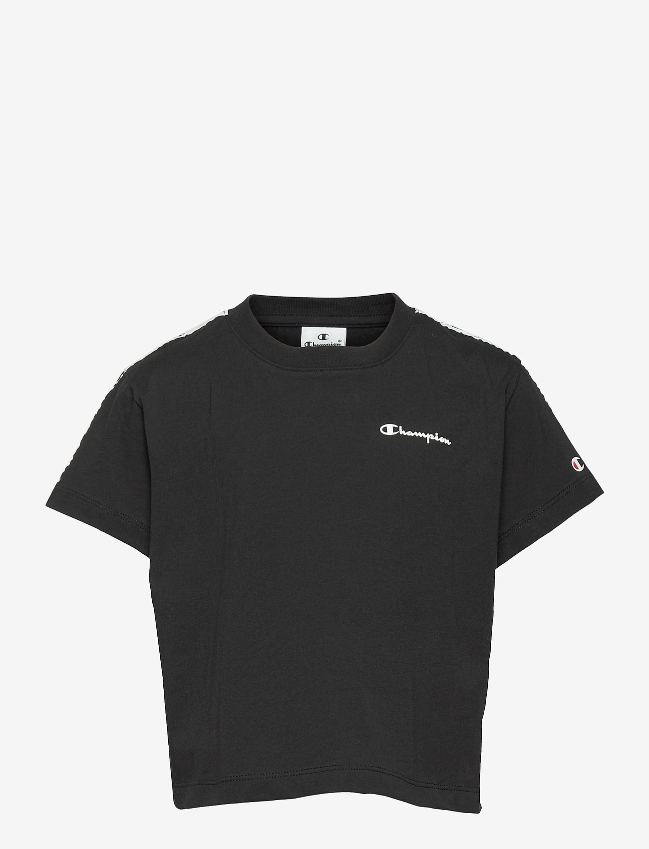 Champion - Crop Top - short-sleeved - black beauty - 0