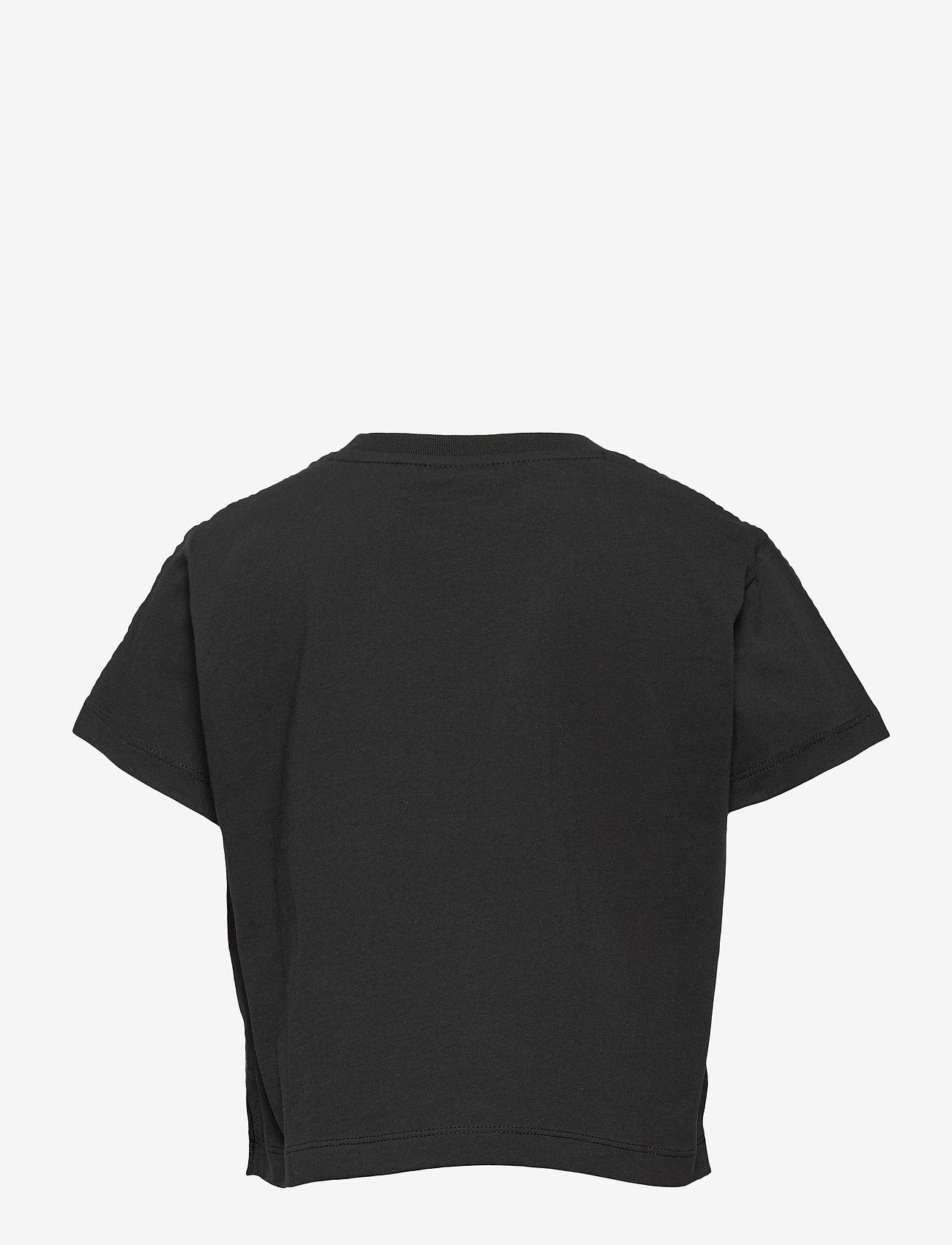 Champion - Crop Top - short-sleeved - black beauty - 1