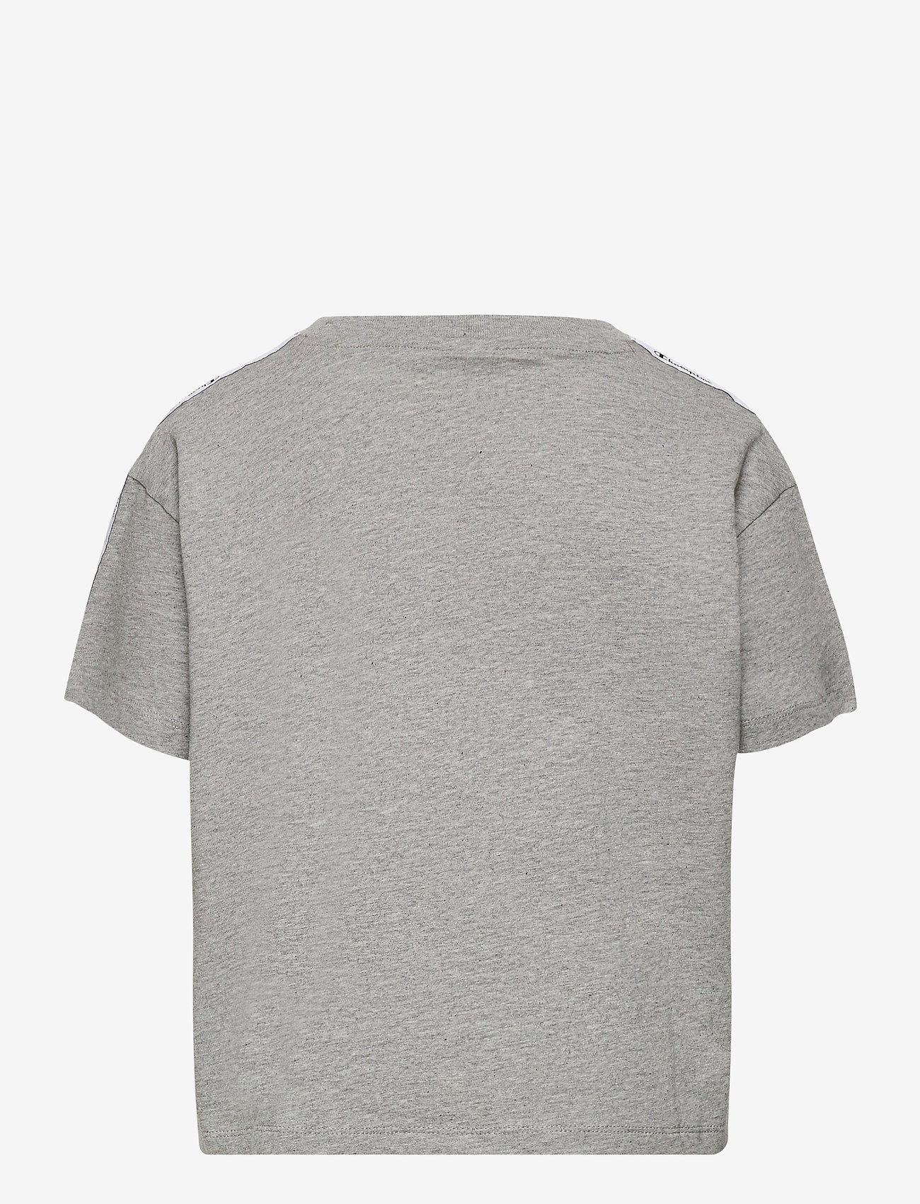 Champion - Crop Top - short-sleeved - gray melange light - 1