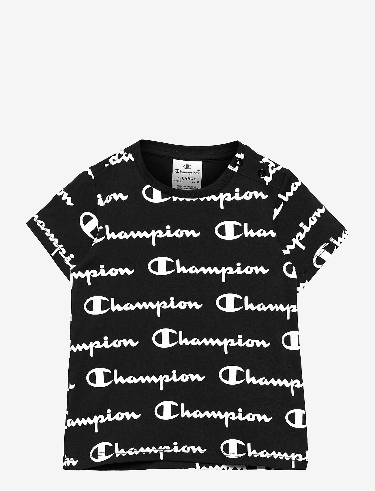 Champion - Crewneck T-Shirt - short-sleeved - black beauty  al (nbk) - 0