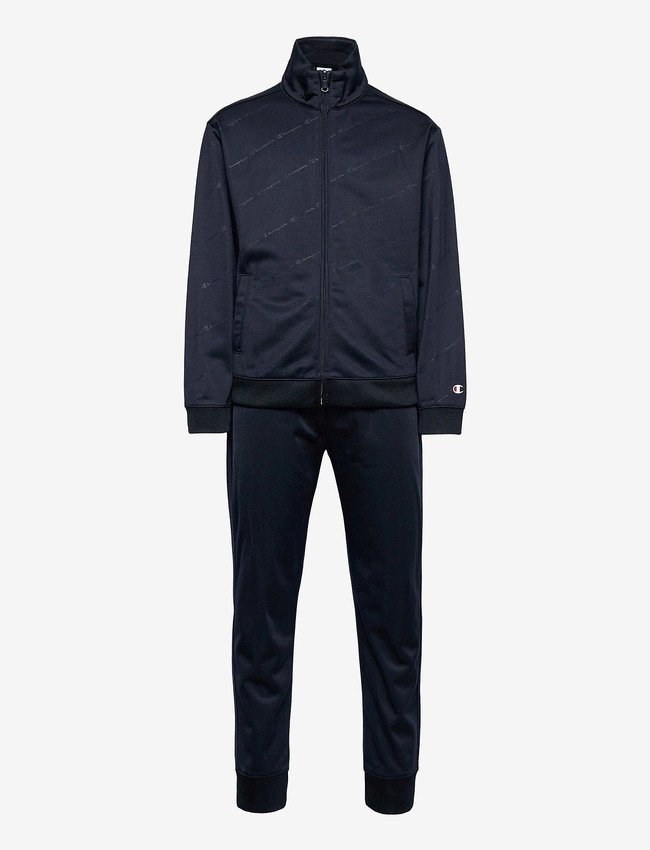 Champion - Full Zip Suit - trainingsanzug - sky captain al (nny) - 0