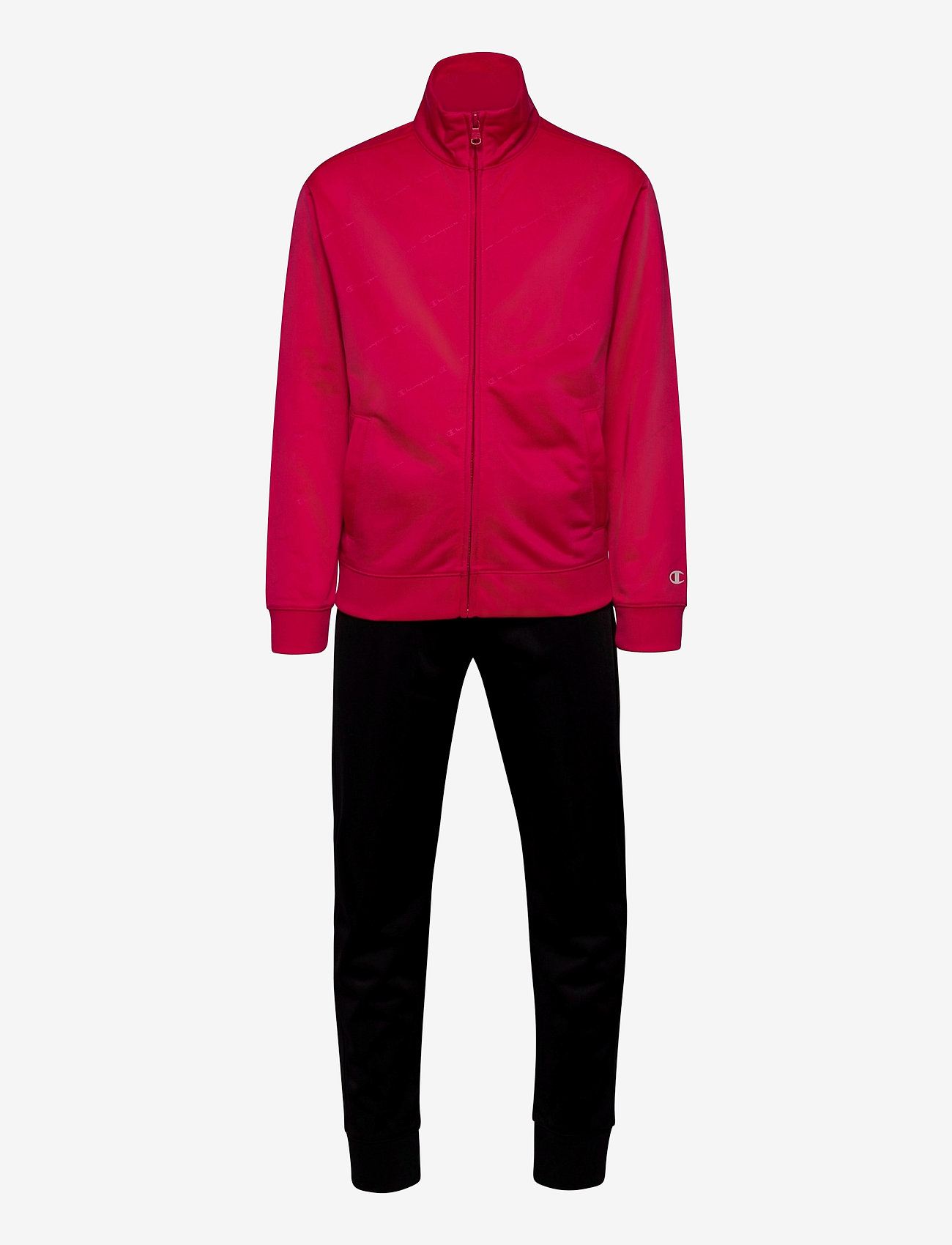 Champion - Full Zip Suit - trainingsanzug - virtual pink (al) vpk - 0
