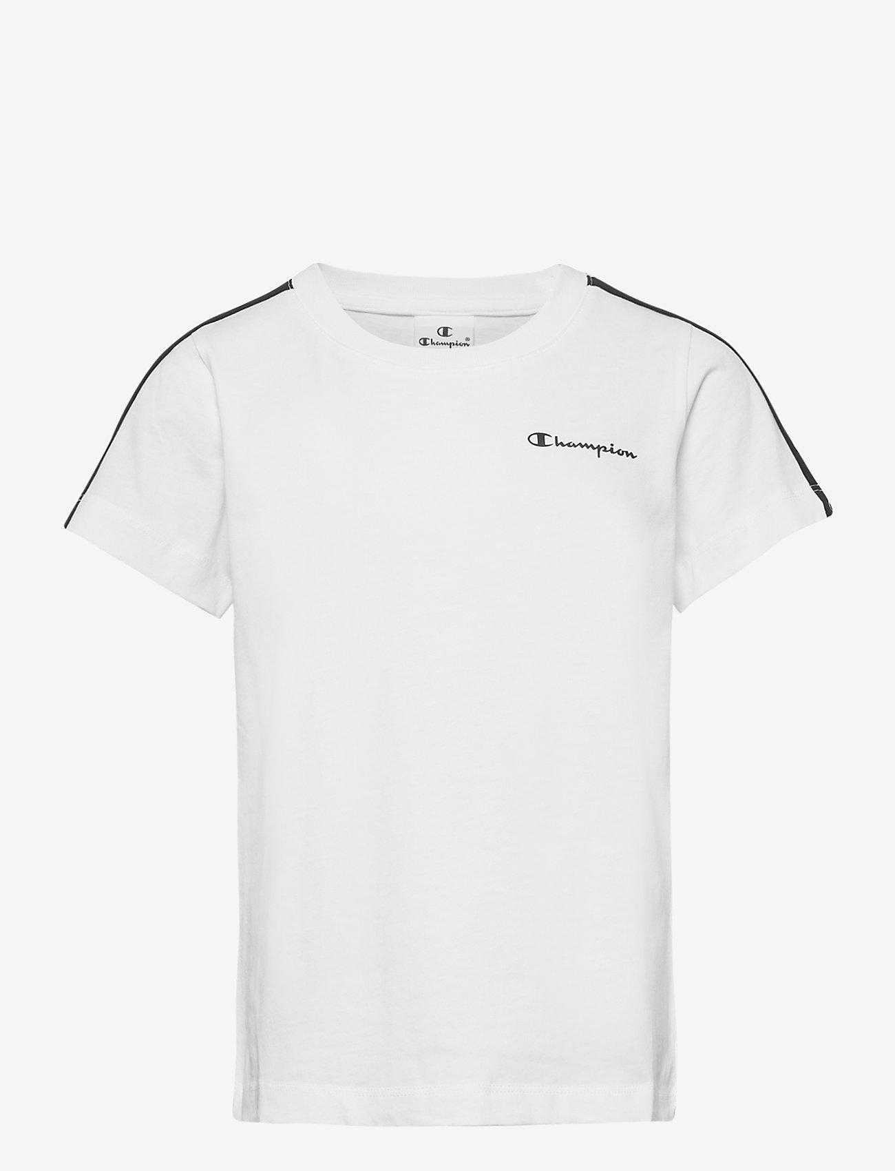 Champion - Crewneck T-Shirt - short-sleeved t-shirts - white - 0