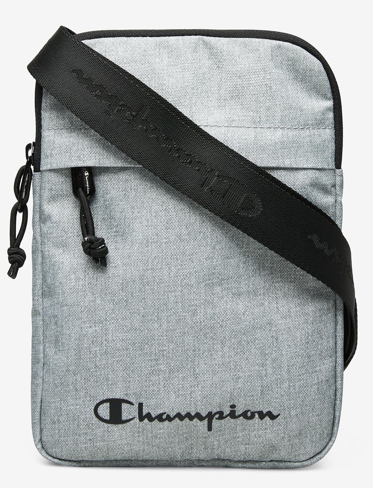 Champion - Medium Shoulder Bag - olkalaukut - gray melange light - 0