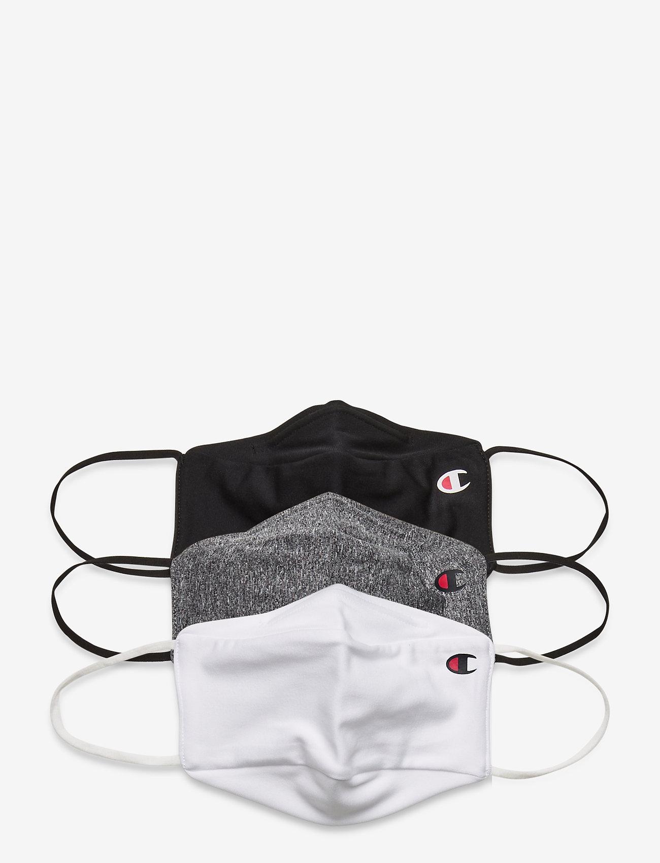 Champion - Facemasks 3-pack - gezicht maskers - grey - 0