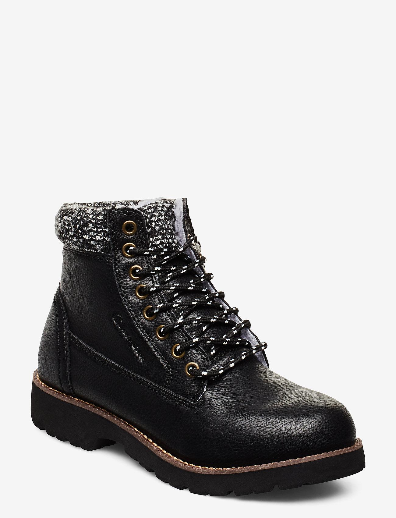 Champion - High Cut Shoe UPSTATE - tasapohjaiset nilkkurit - black beauty