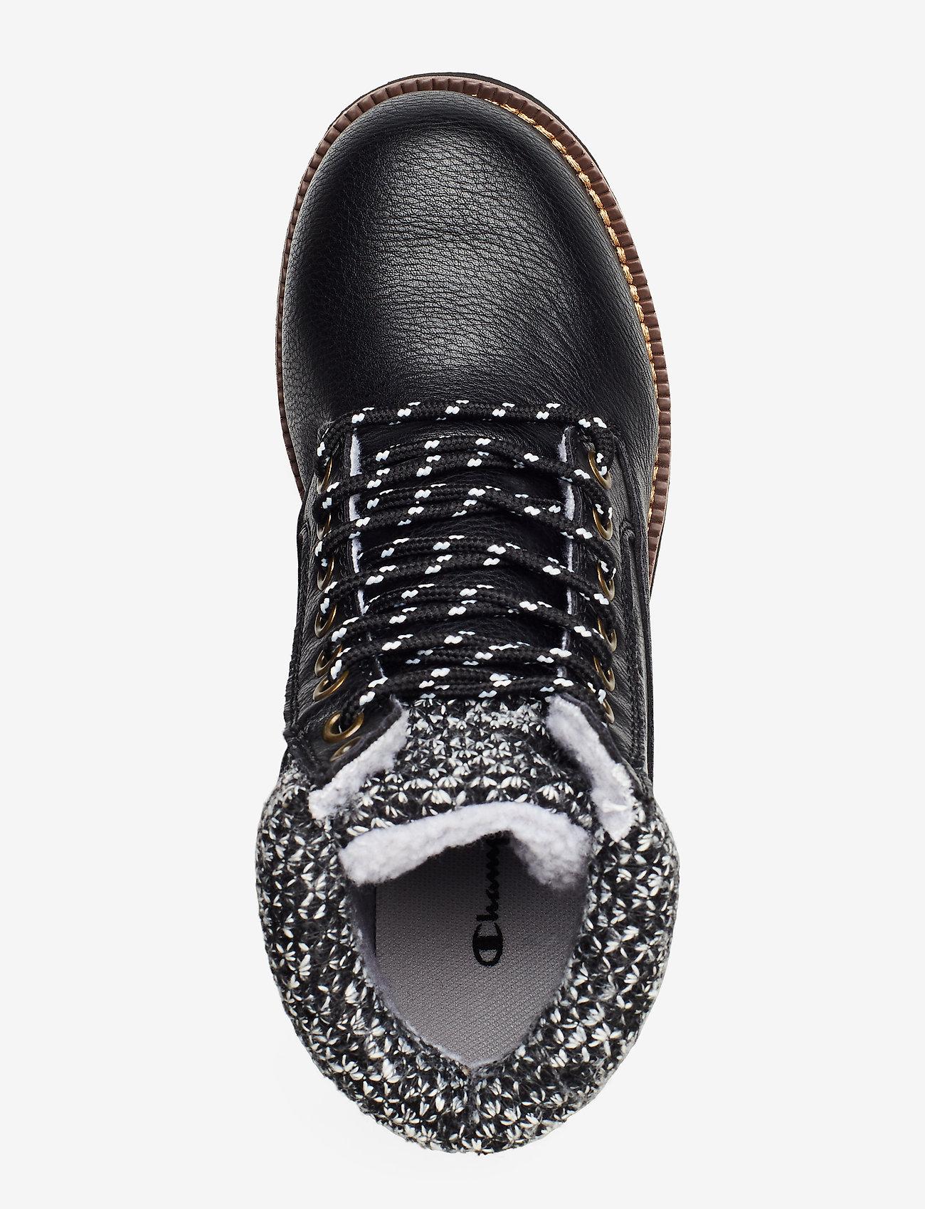 High Cut Shoe Upstate (Black Beauty) - Champion