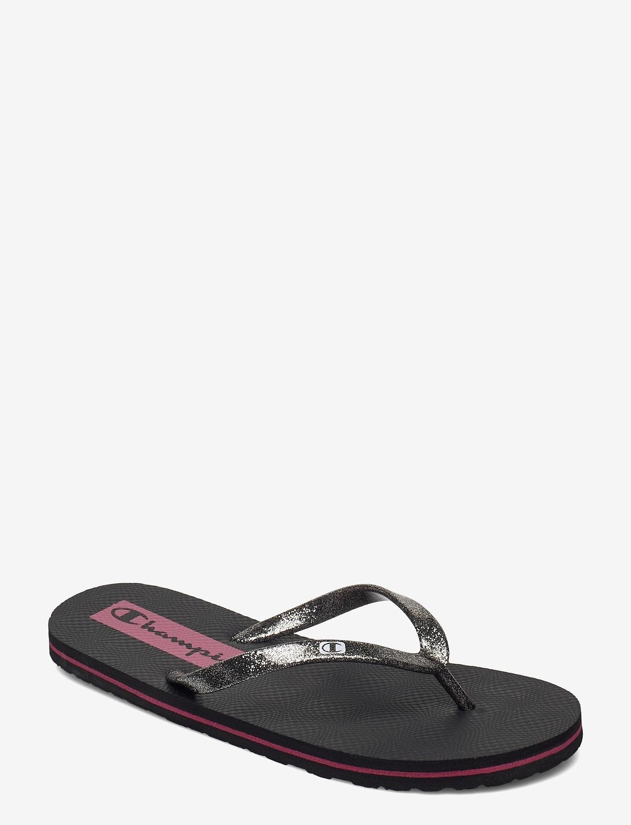 Champion - Flip Flop Slipper SIESTA - sneakers - black beauty b - 0