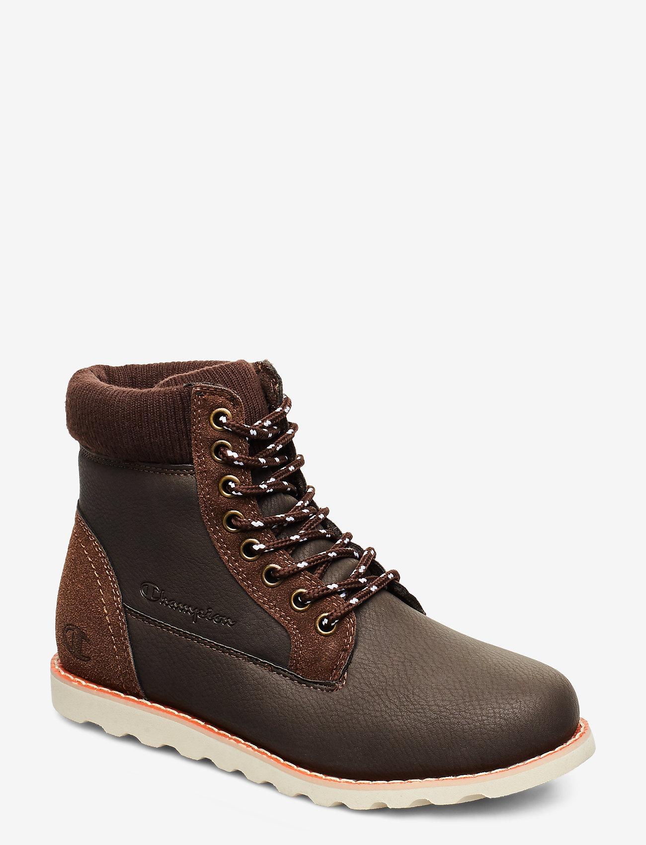 Champion - High Cut Shoe UPSTATE B GS - saappaat - brown