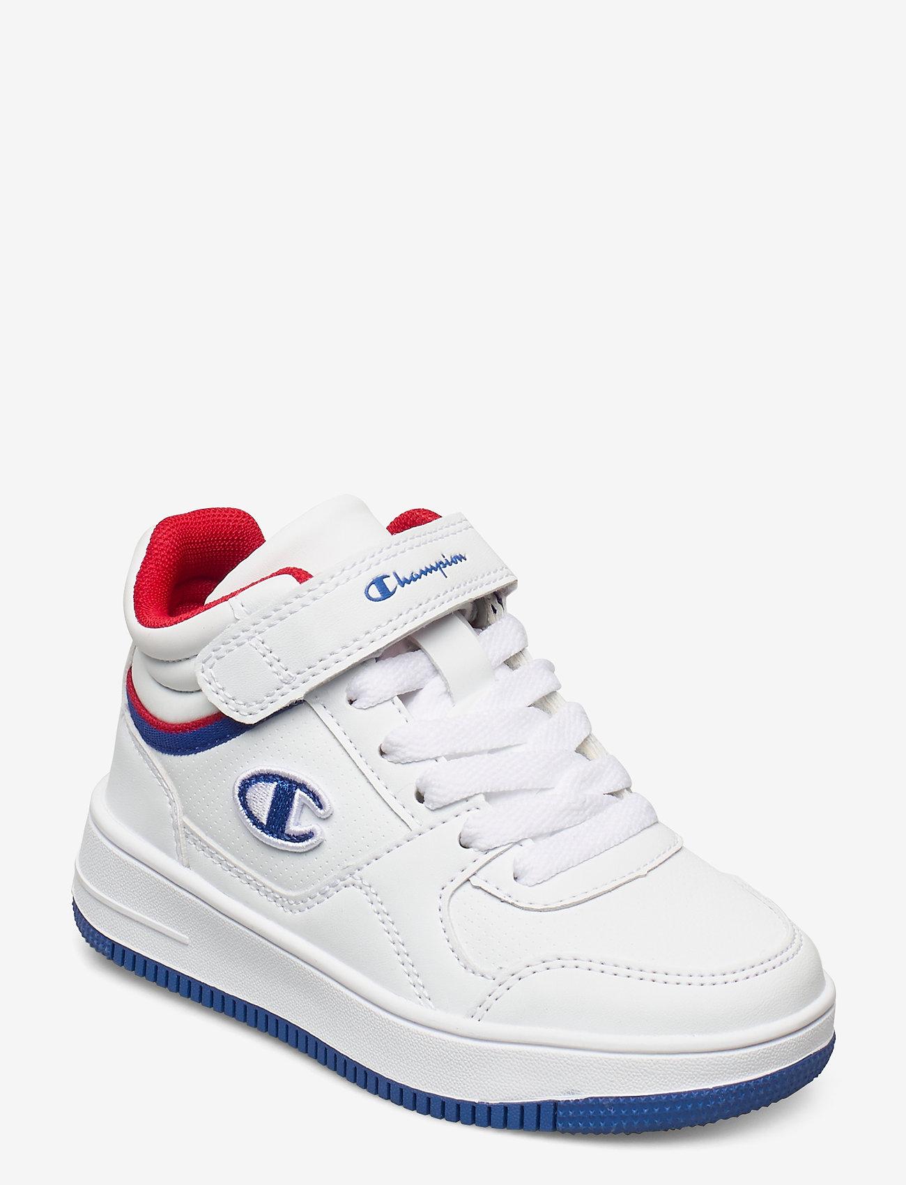 Champion - Mid Cut Shoe REBOUND VINTAGE MID B PS - hoher schnitt - white - 0