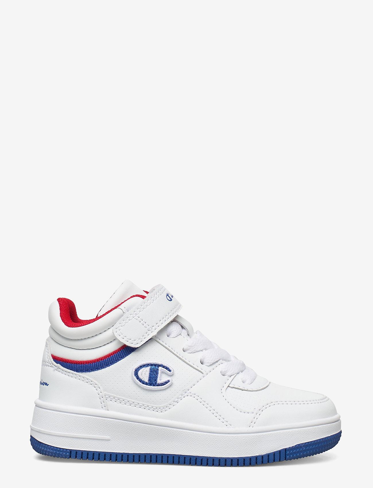 Champion - Mid Cut Shoe REBOUND VINTAGE MID B PS - hoher schnitt - white - 1