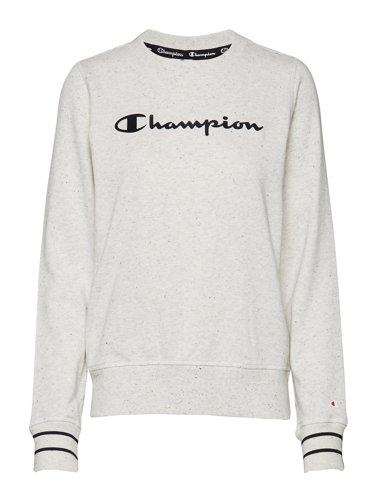 MelangeChampion Crewneck Black Dots Grey Sweatshirtlight LSpGVUMqz