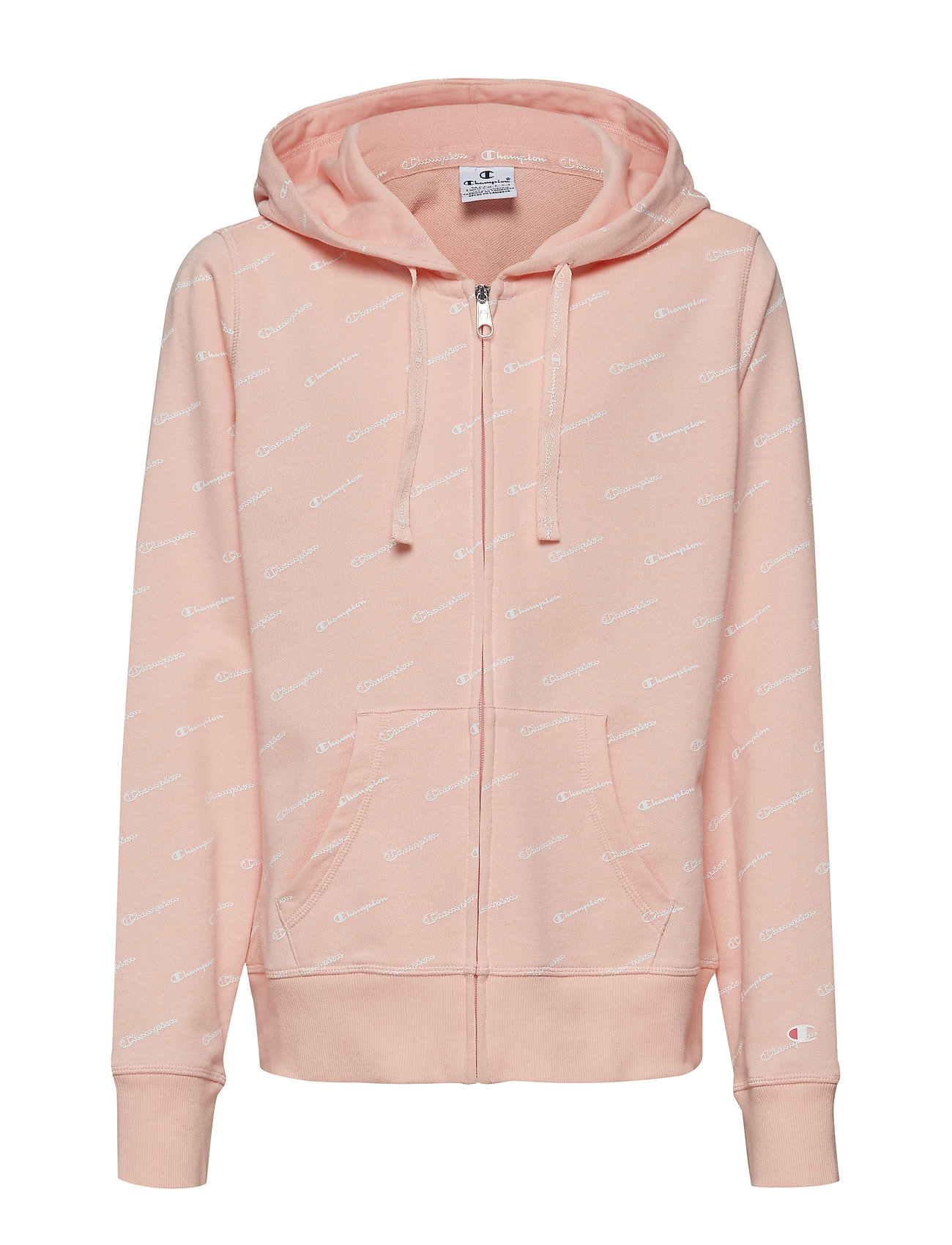 Champion Hooded Full Zip Sweatshirt - IMPATIENS PINK AL (IMP)