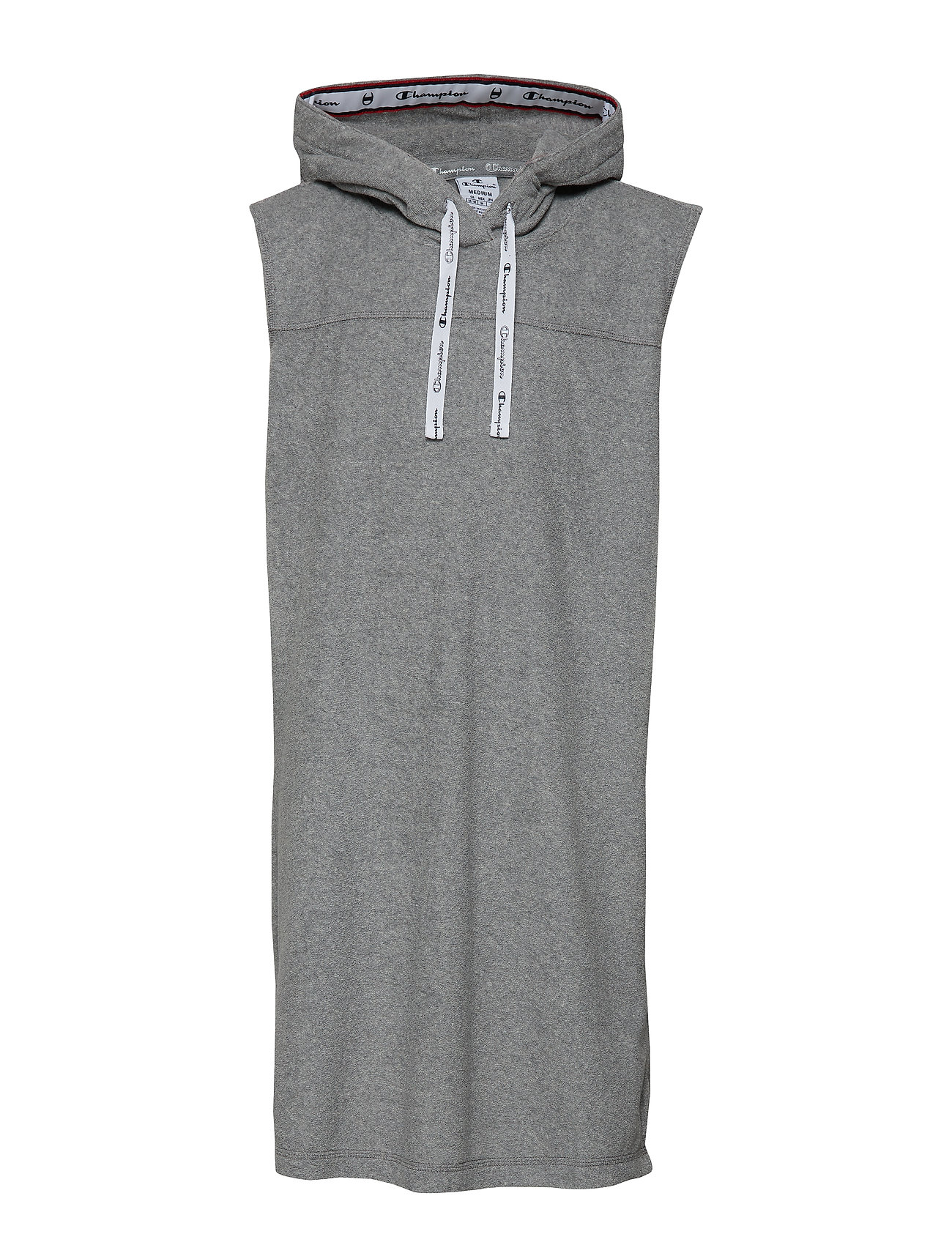 Champion Maxi Hooded Sweatshirt - GRAY MELANGE LIGHT