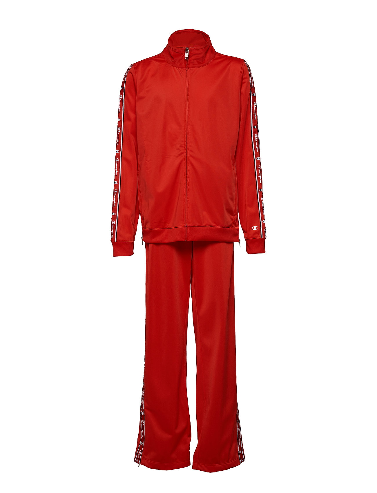 Champion Full Zip Suit - FLAME SCARLET
